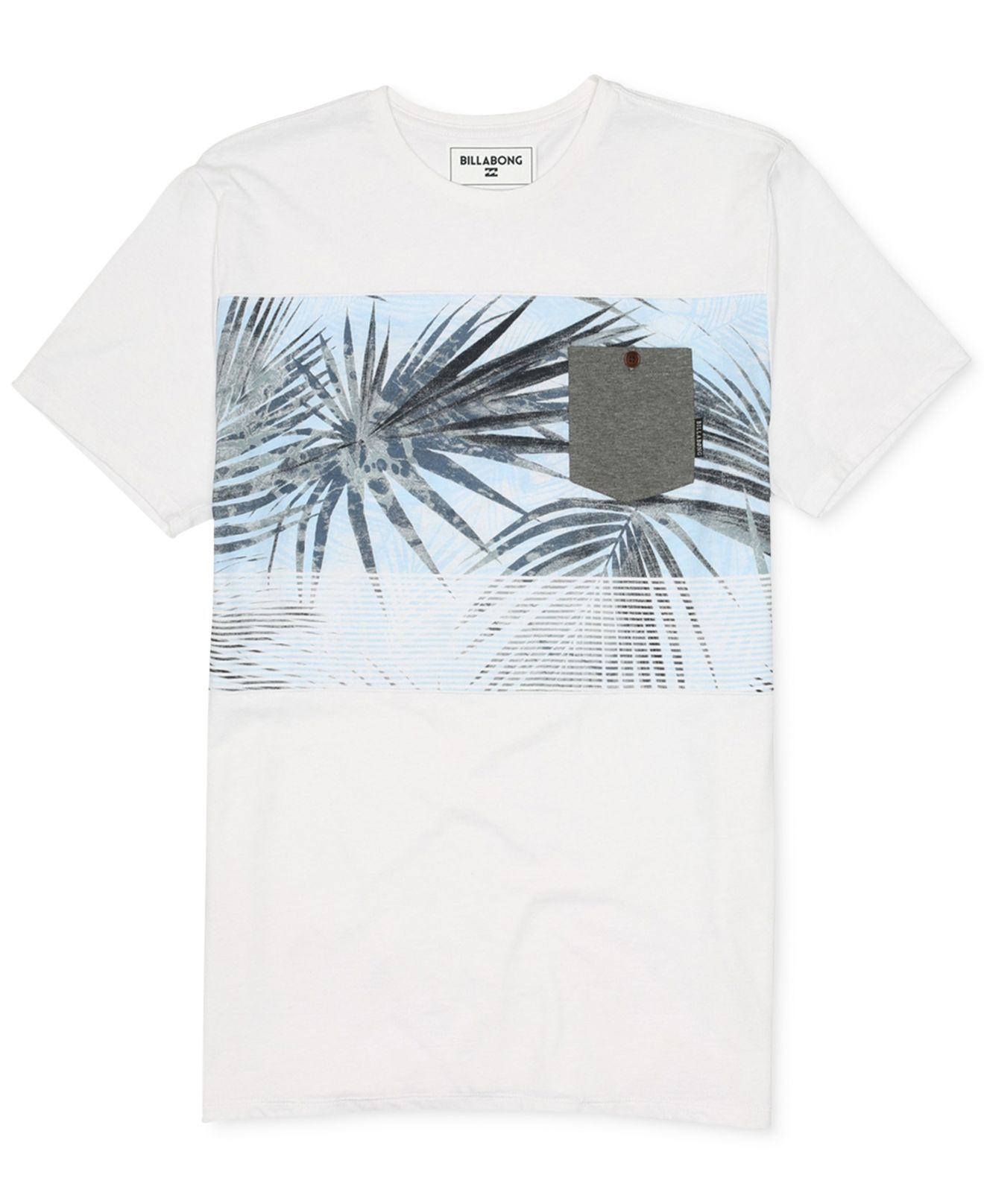 Billabong palmdale graphic t shirt in white for men lyst for T shirt printing in palmdale ca