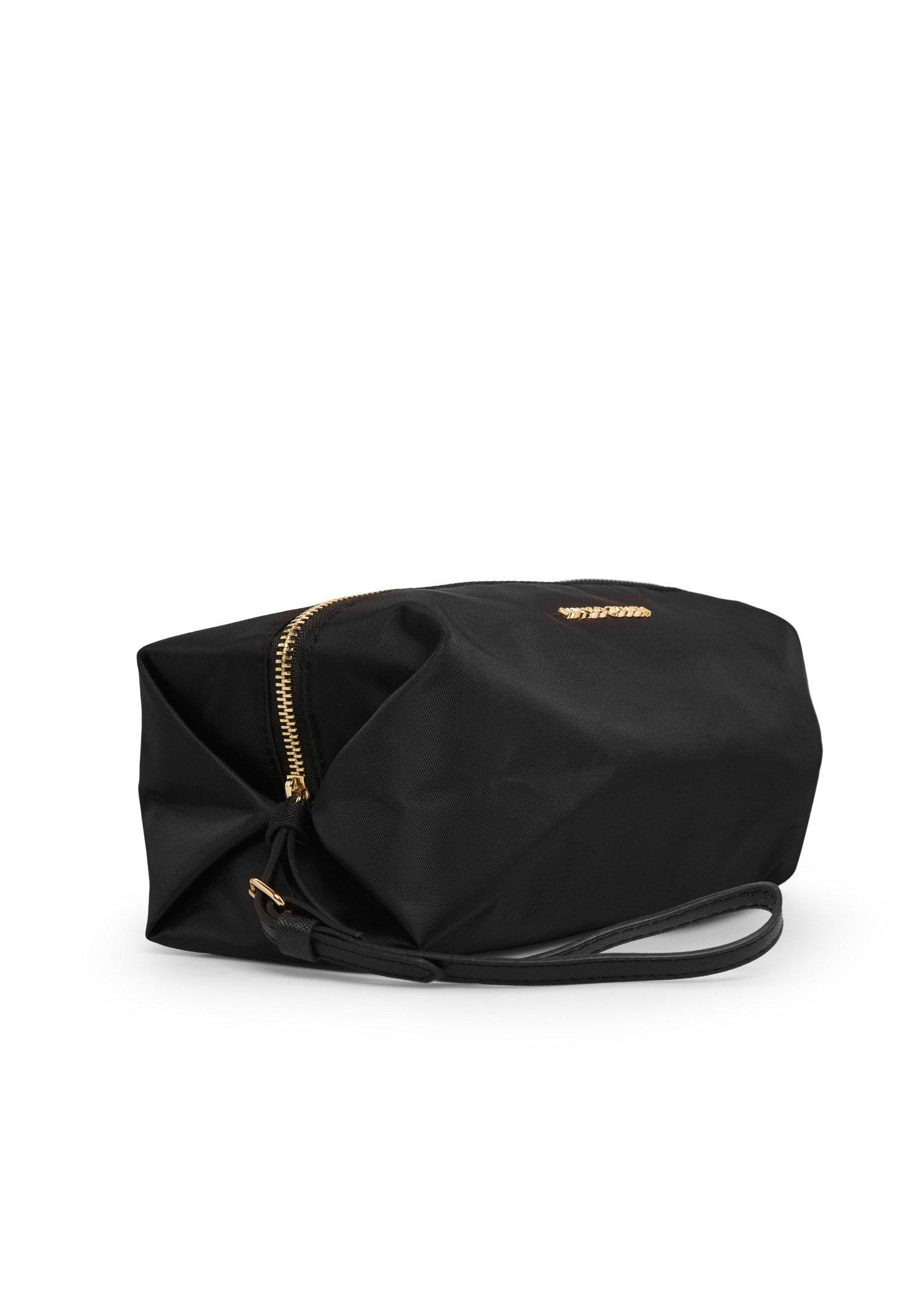 Mango Nylon Cosmetic Bag In Black Lyst
