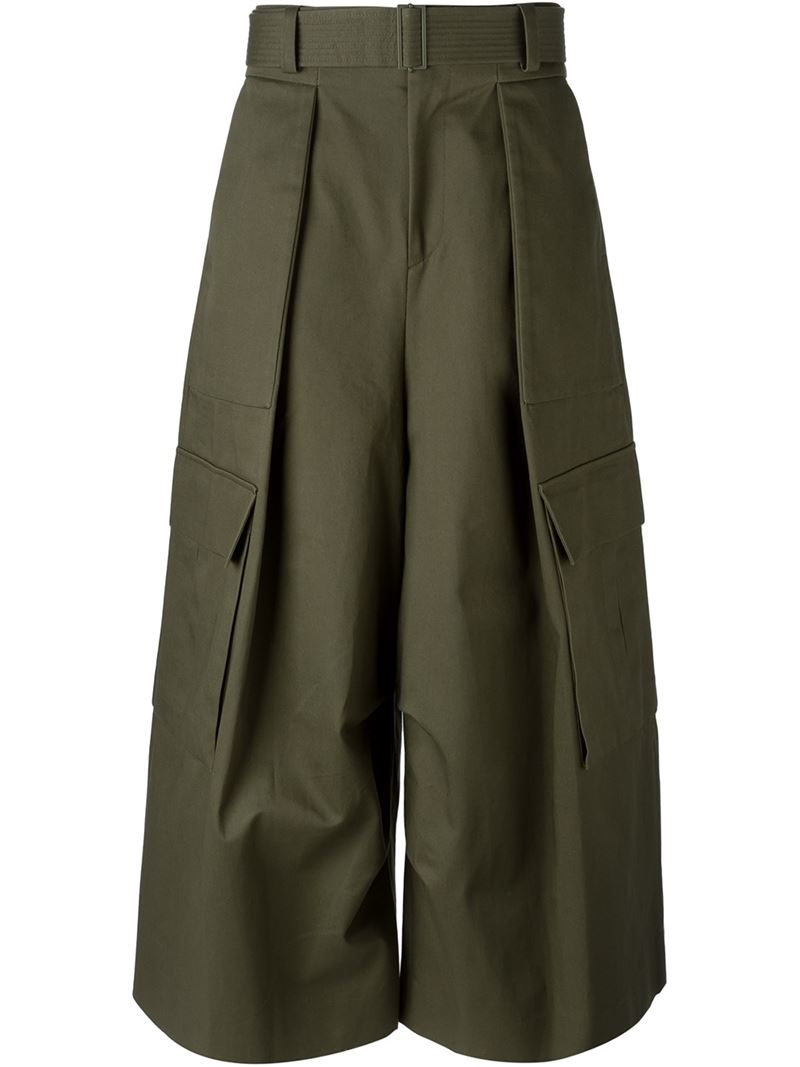 mens wide leg cargo pants