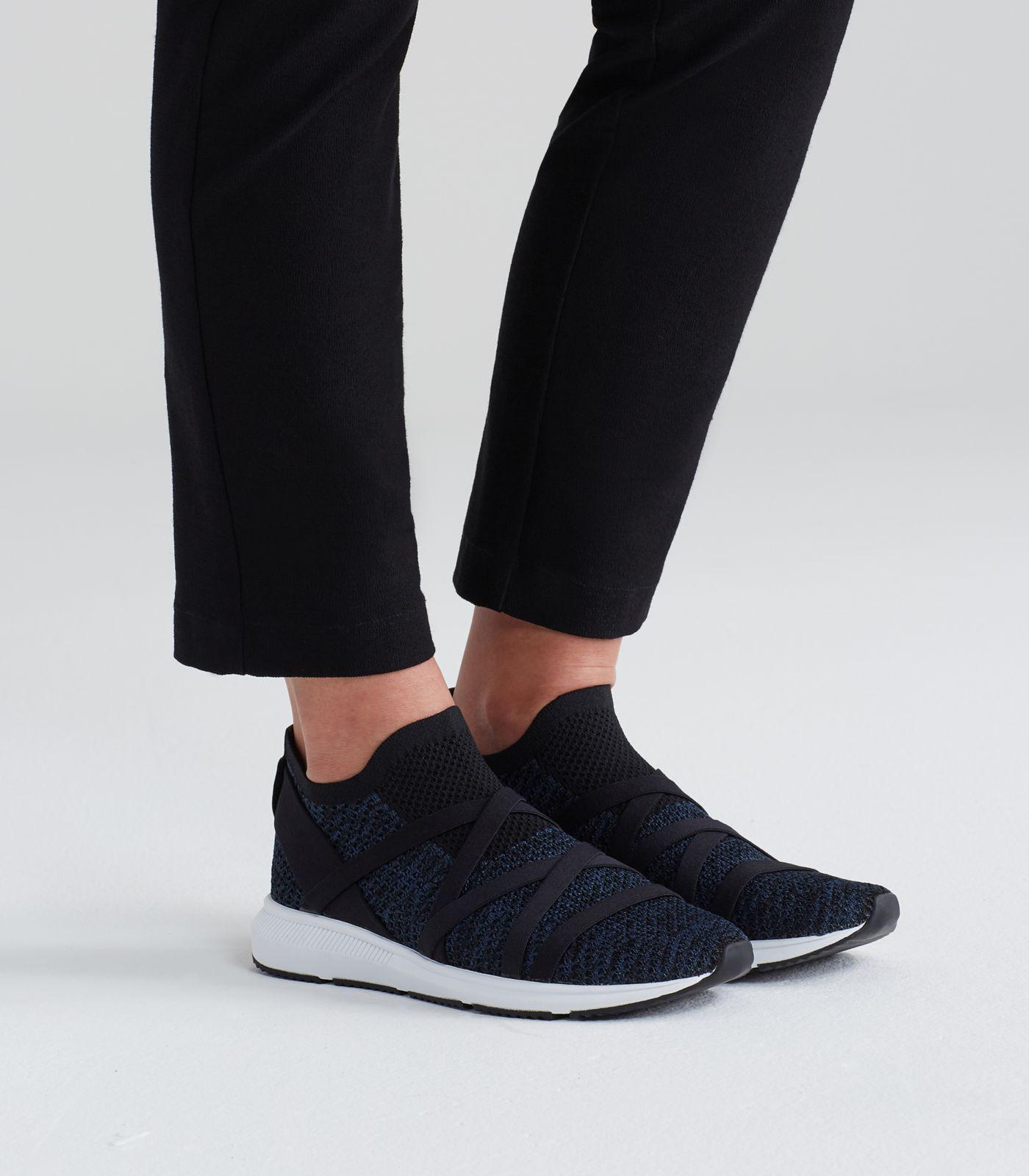 Xanady Sustainable Mesh Sneaker in Blue