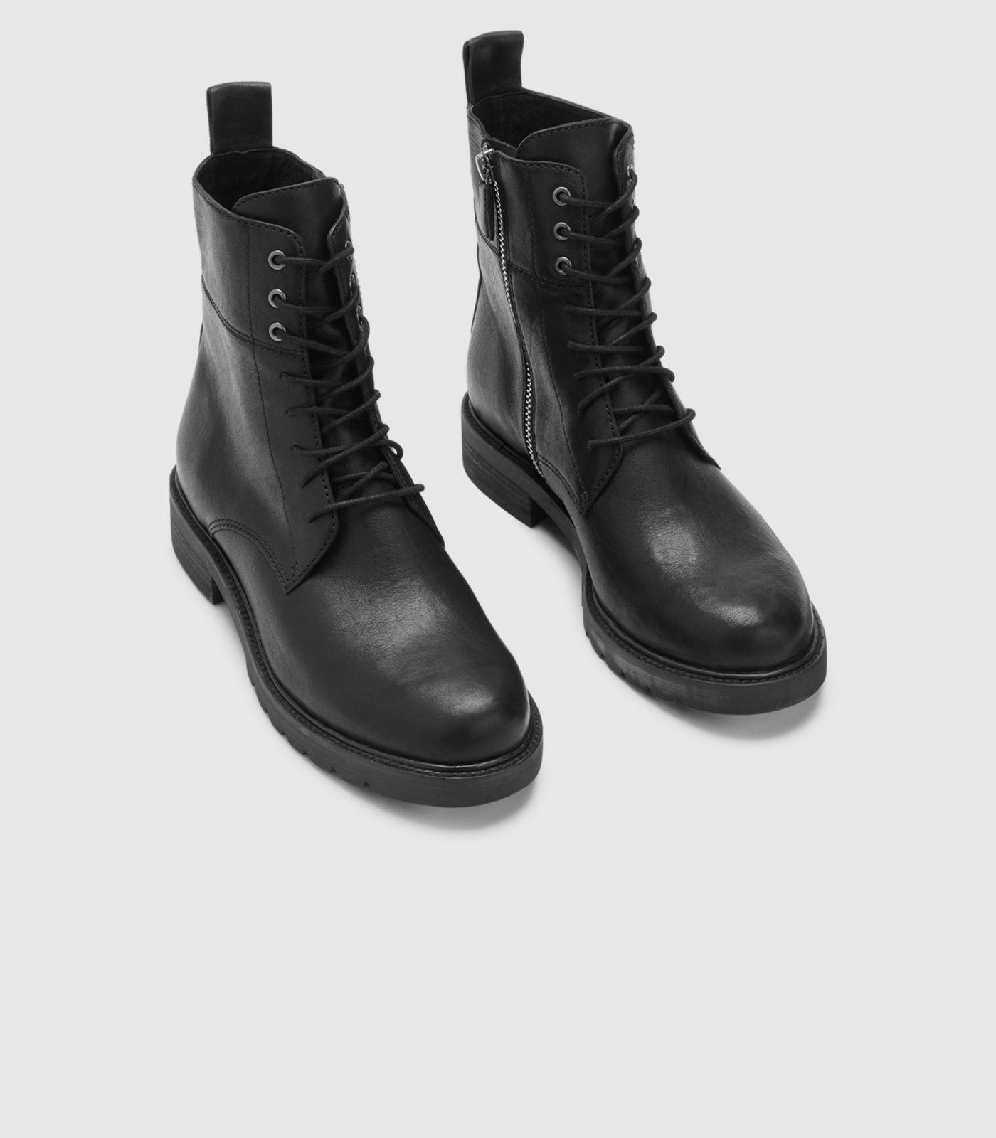 2a17e34d6a4c Eileen Fisher - Black Ripley Italian Leather Ankle Boot - Lyst. View  fullscreen