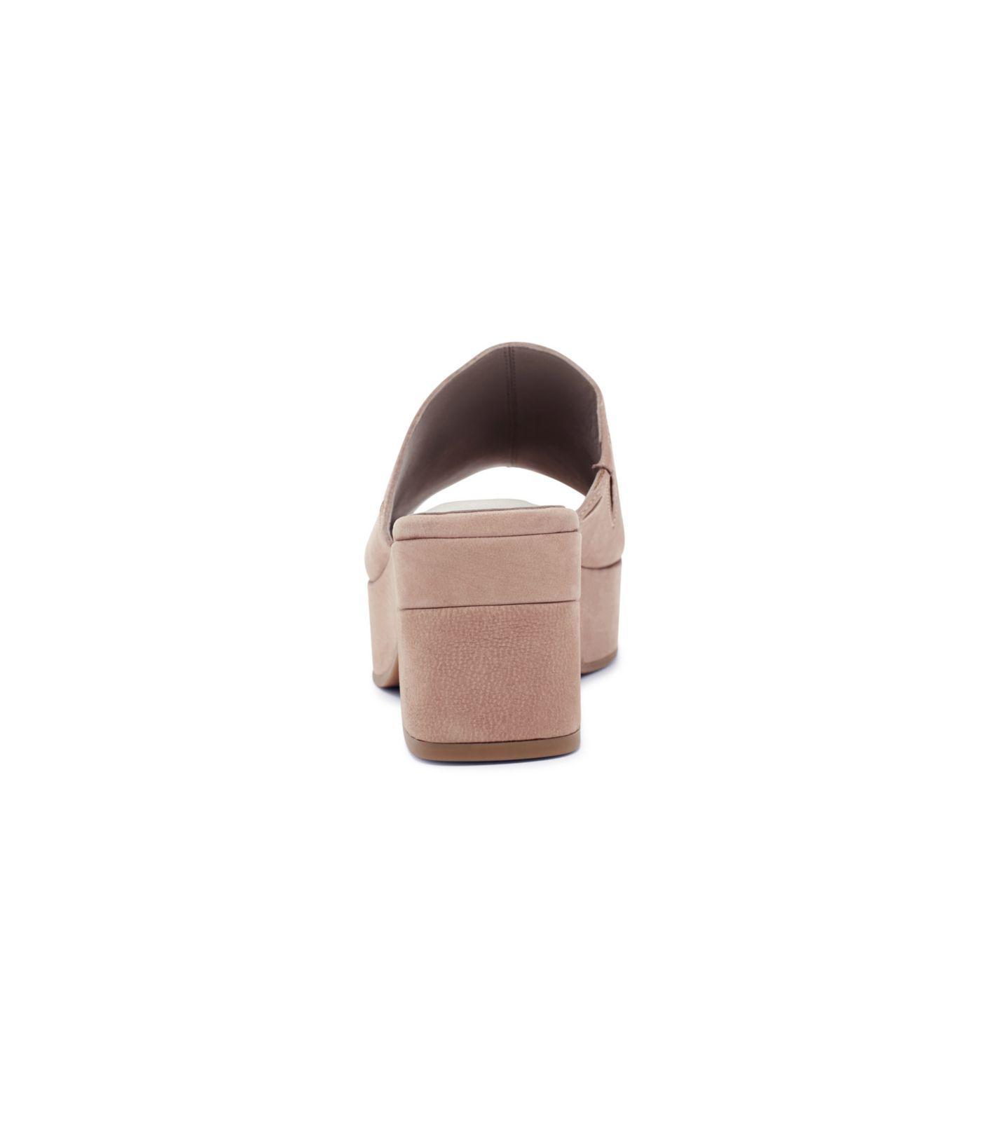 8cdd3f7da50 Lyst - Eileen Fisher Tumbled Nubuck Dana Platform Sandal