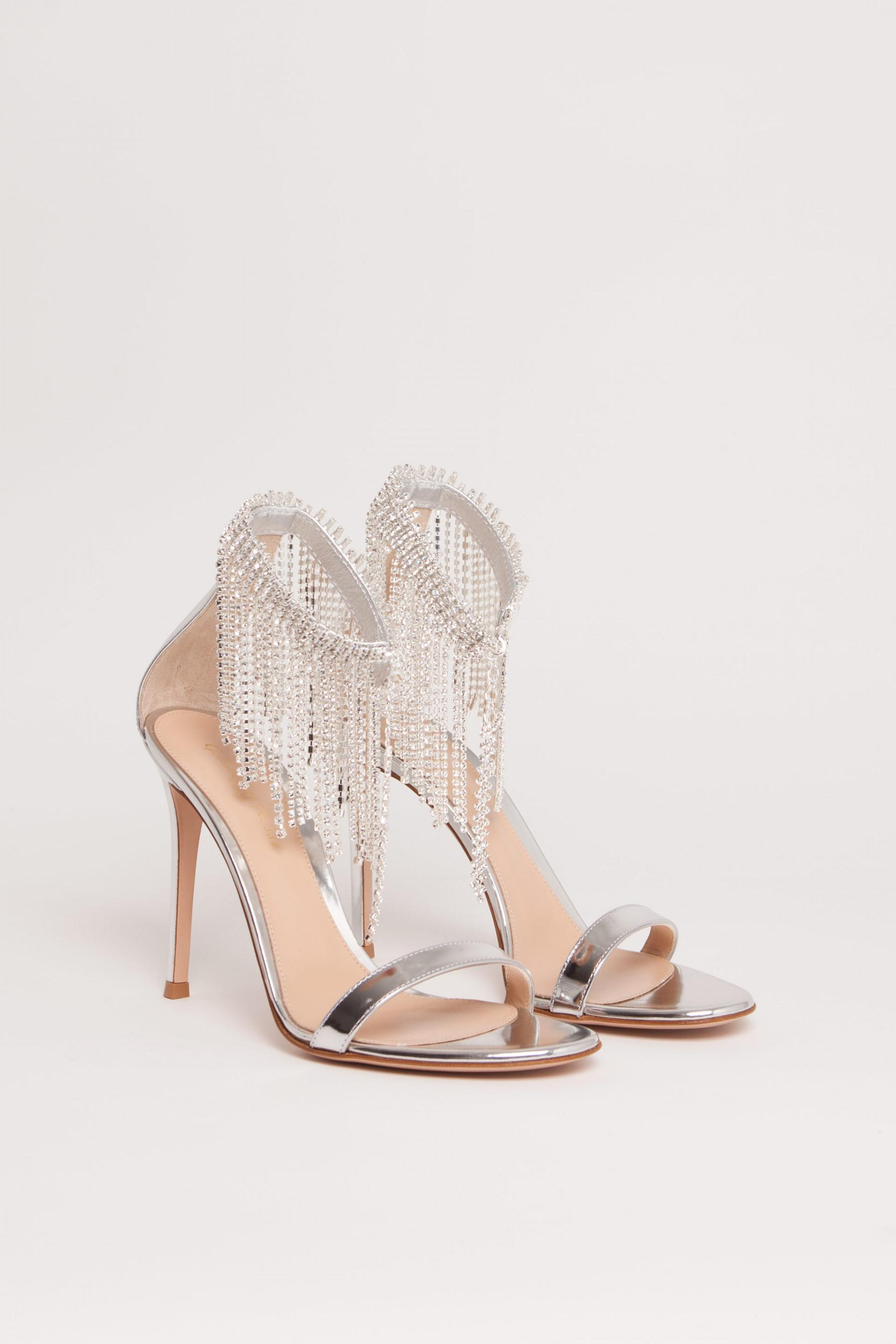 Jasmine sandals - Metallic Gianvito Rossi 8SSuM