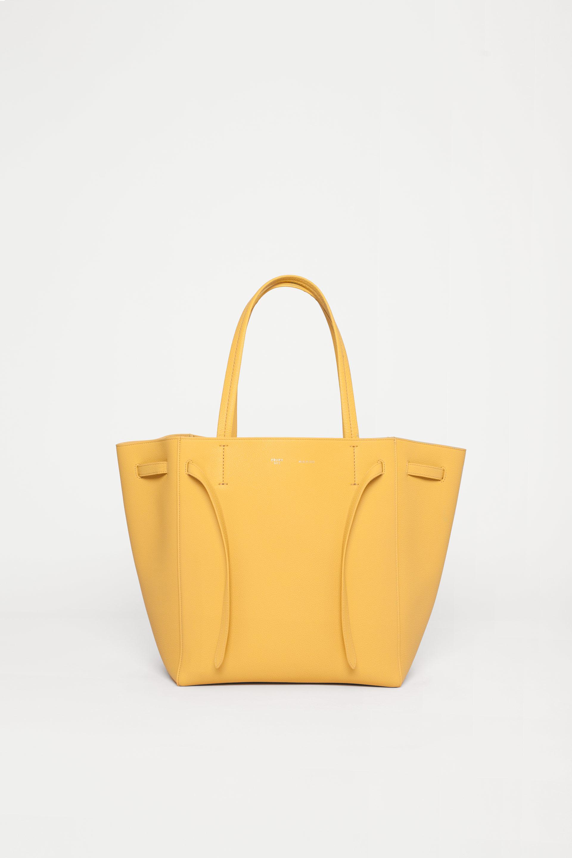 a55a542570 Céline Small Cabas Phantom in Orange - Lyst