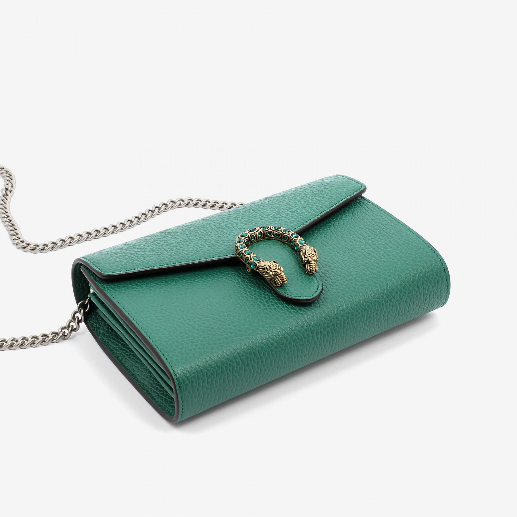 1b7068776ac Gucci Dionysus Wallet On Chain Green - Best Photo Wallet ...