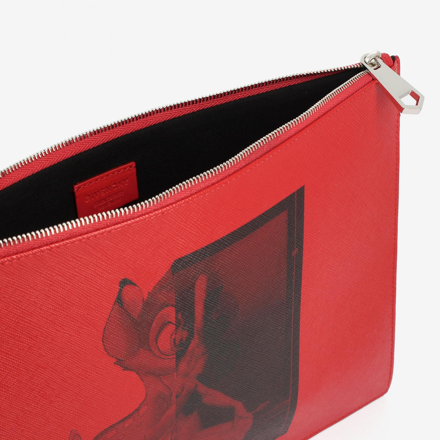 pouch clutch - Red Givenchy orYFCIJ7p