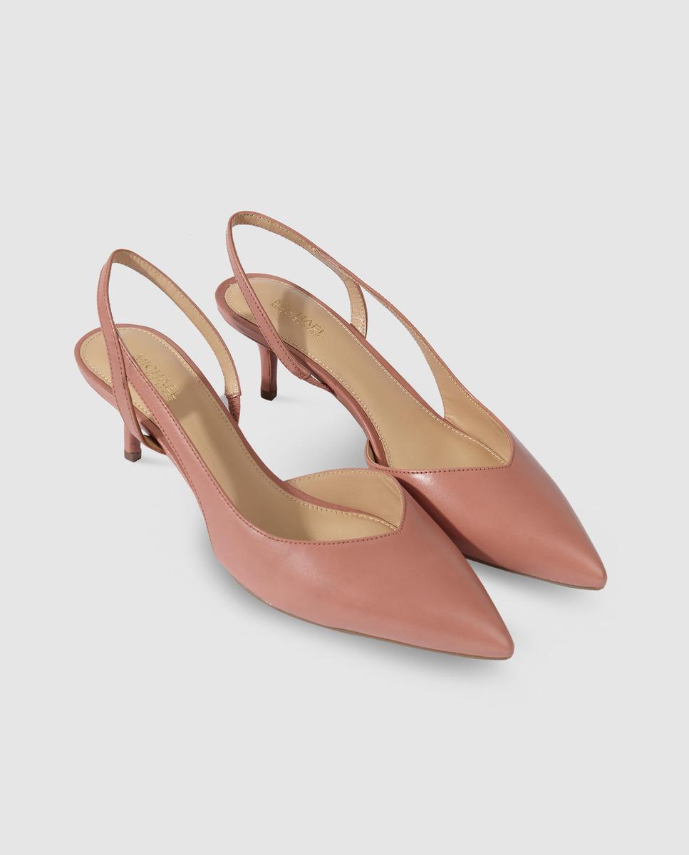 e8b82dd4148 Lyst - MICHAEL Michael Kors Pink Leather Court Shoes. Eliza Flex ...