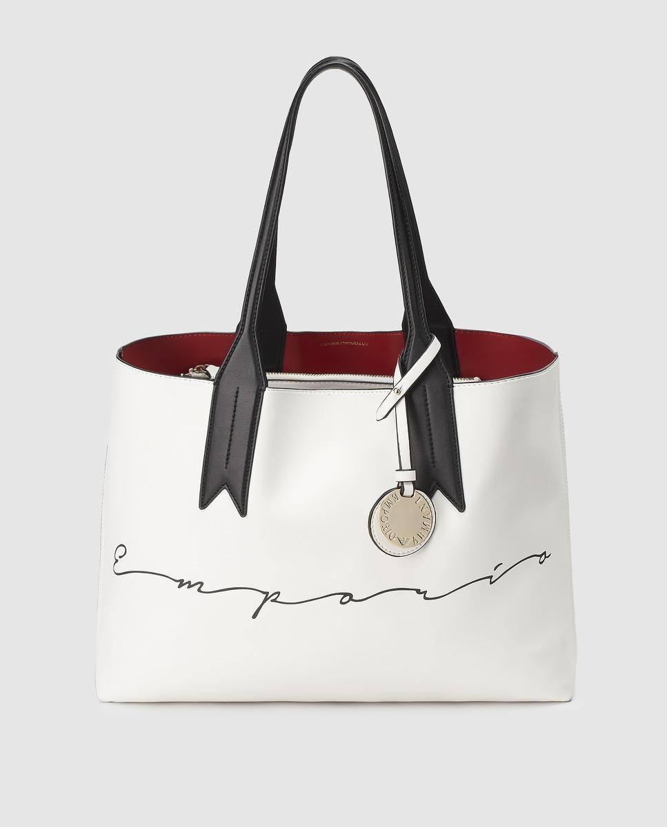 7c7666d7553 Emporio Armani. Women's Multicoloured Shopper Bag