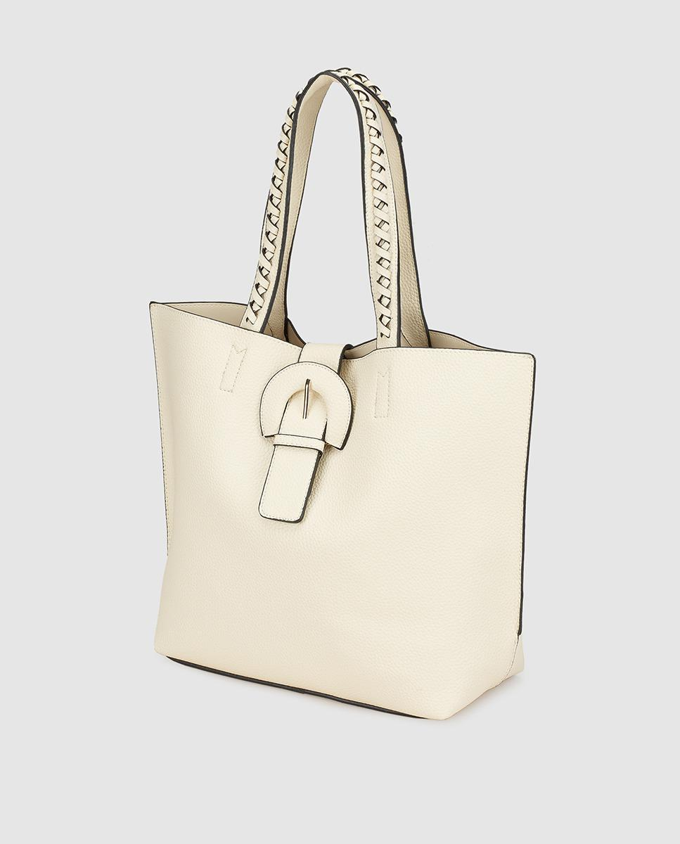 ea31bd75bf Lyst - El Corte Inglés Beige Shopper Bag With Removable Coin Purse in  Natural