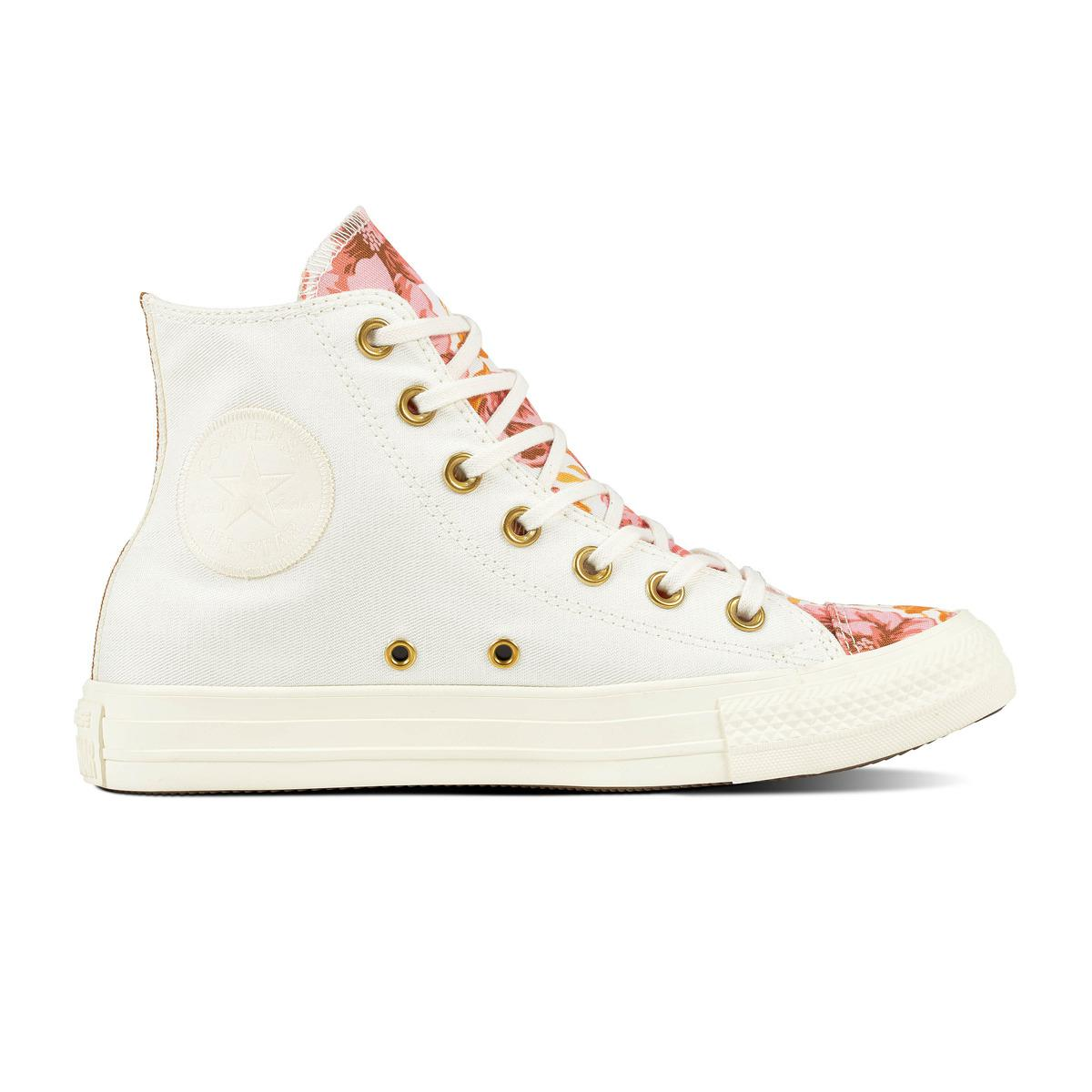5af861da9864 Converse Chuck Taylor All Star Parkway Floral Hi Casual Trainers in ...