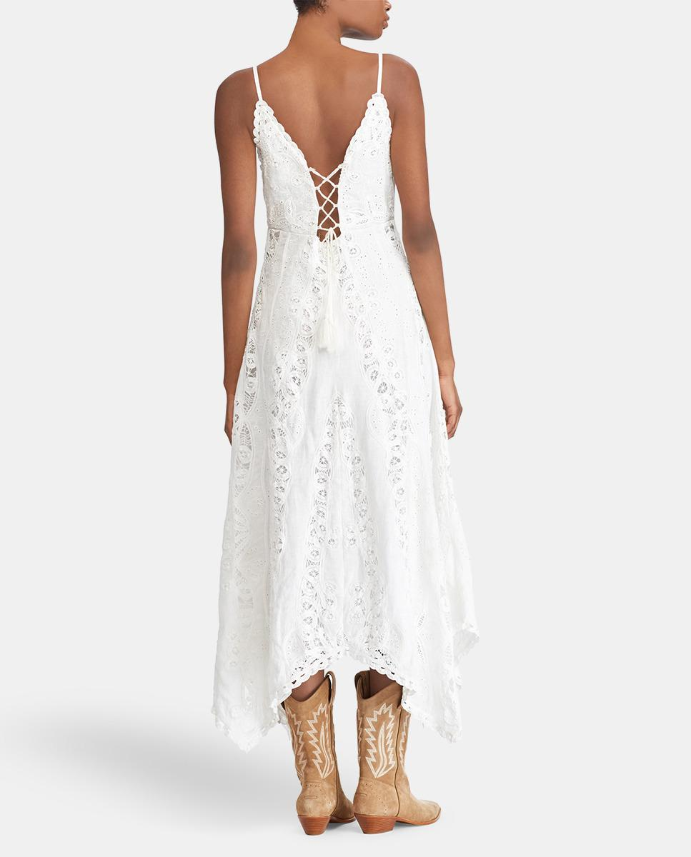 962ab578c6 Gallery. Previously sold at  El Corte Ingles · Women s White Dresses ...