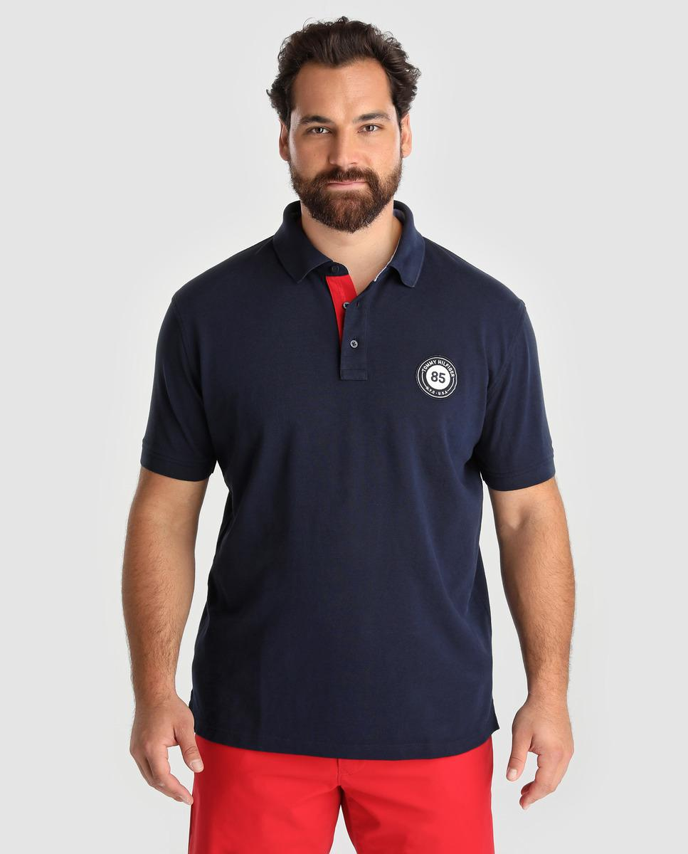 Lyst Tommy Hilfiger Big And Tall Blue Short Sleeves Piqu Polo
