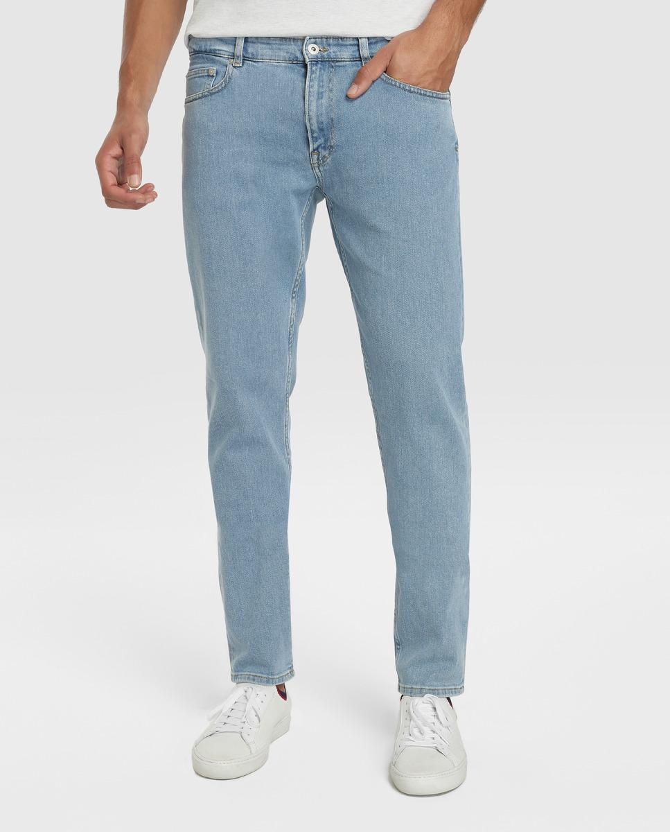 6e8ebe01 Men's Slim-fit Blue Jeans