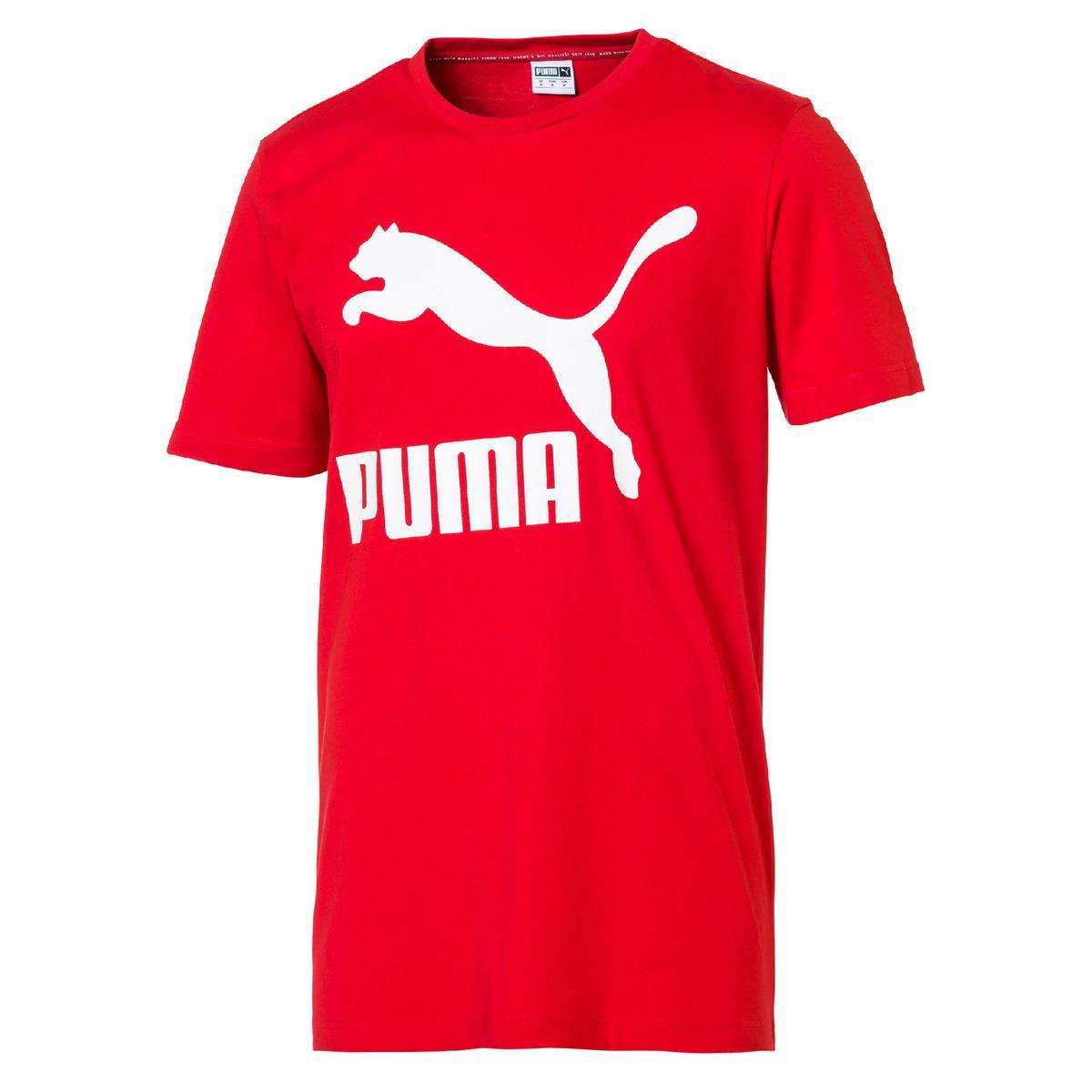 59393610bff PUMA. Men's Red Classic Logo T-shirt. $32 From El Corte Ingles