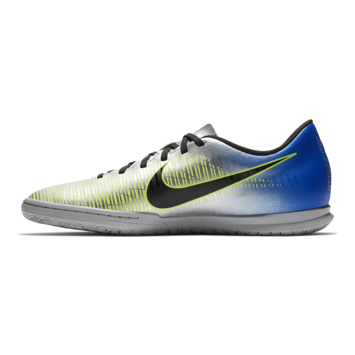 sports shoes b150b 423b9 nike -Blue-Silver-Neymar-Jr-Indoor-Football-Boots-Mercurialx-Vortex-Iii-ic.jpeg