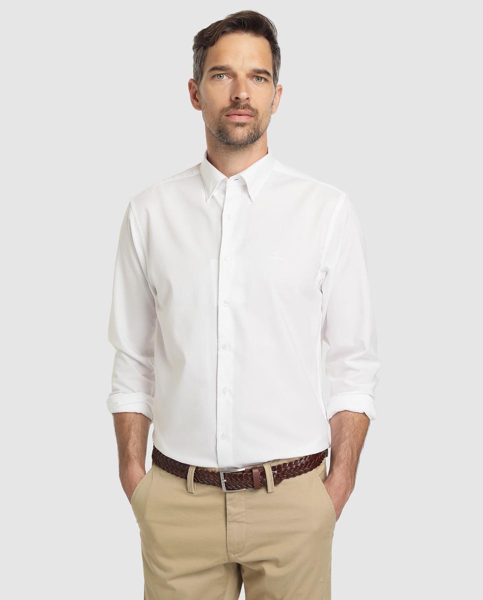 17a8a1e6a4 GANT Regular-fit Plain White Oxford Shirt in White for Men - Lyst