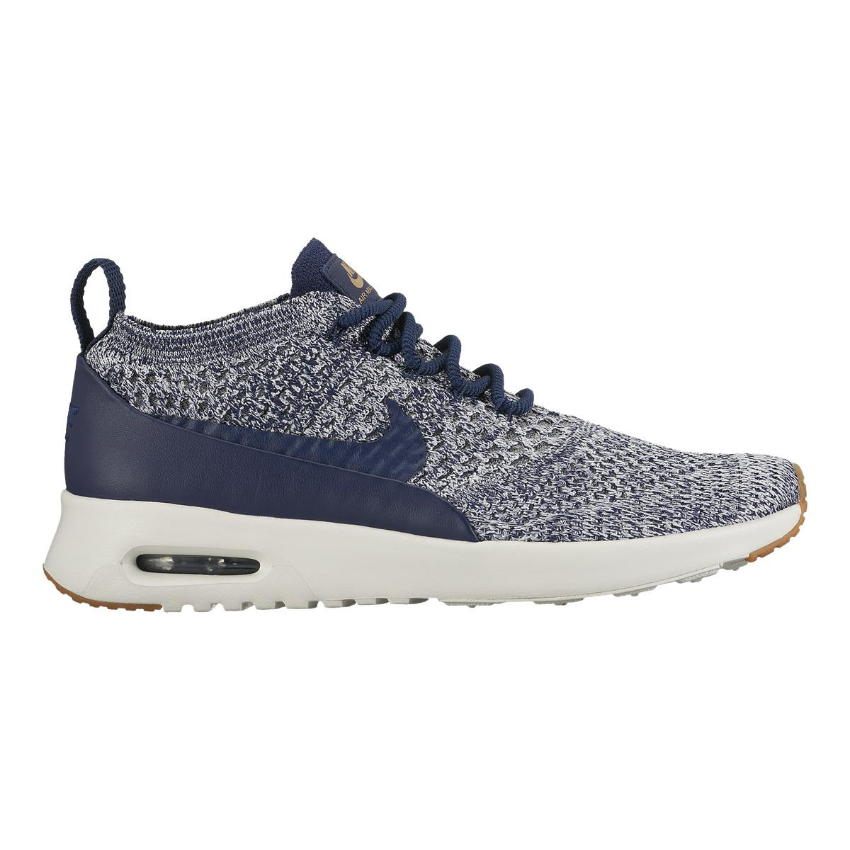 lyst nike air max thea ultra flyknit casual trainers in. Black Bedroom Furniture Sets. Home Design Ideas