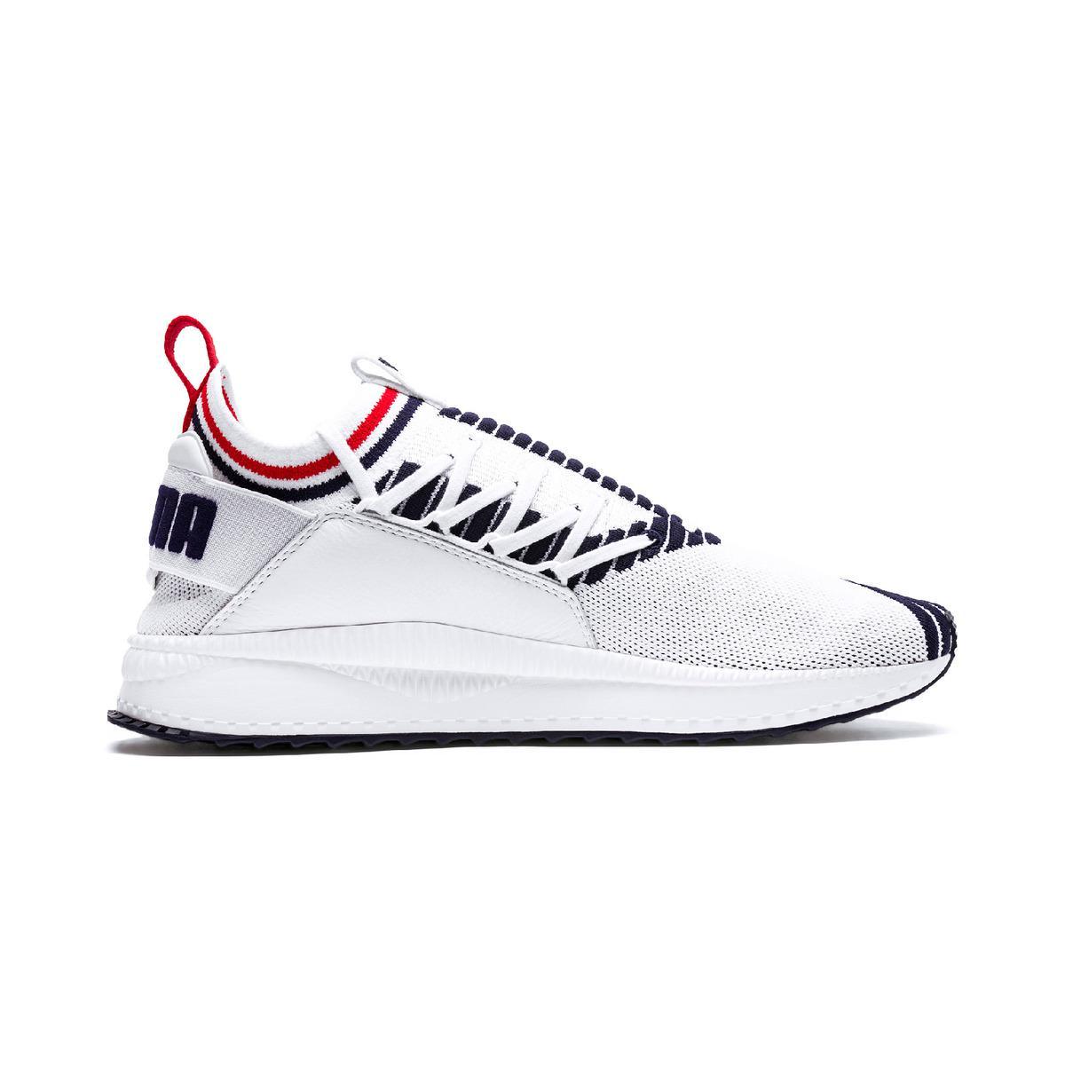 2d3ddc89a56 PUMA Tsugi Jun Sport Stripes Casual Trainers in White for Men - Lyst