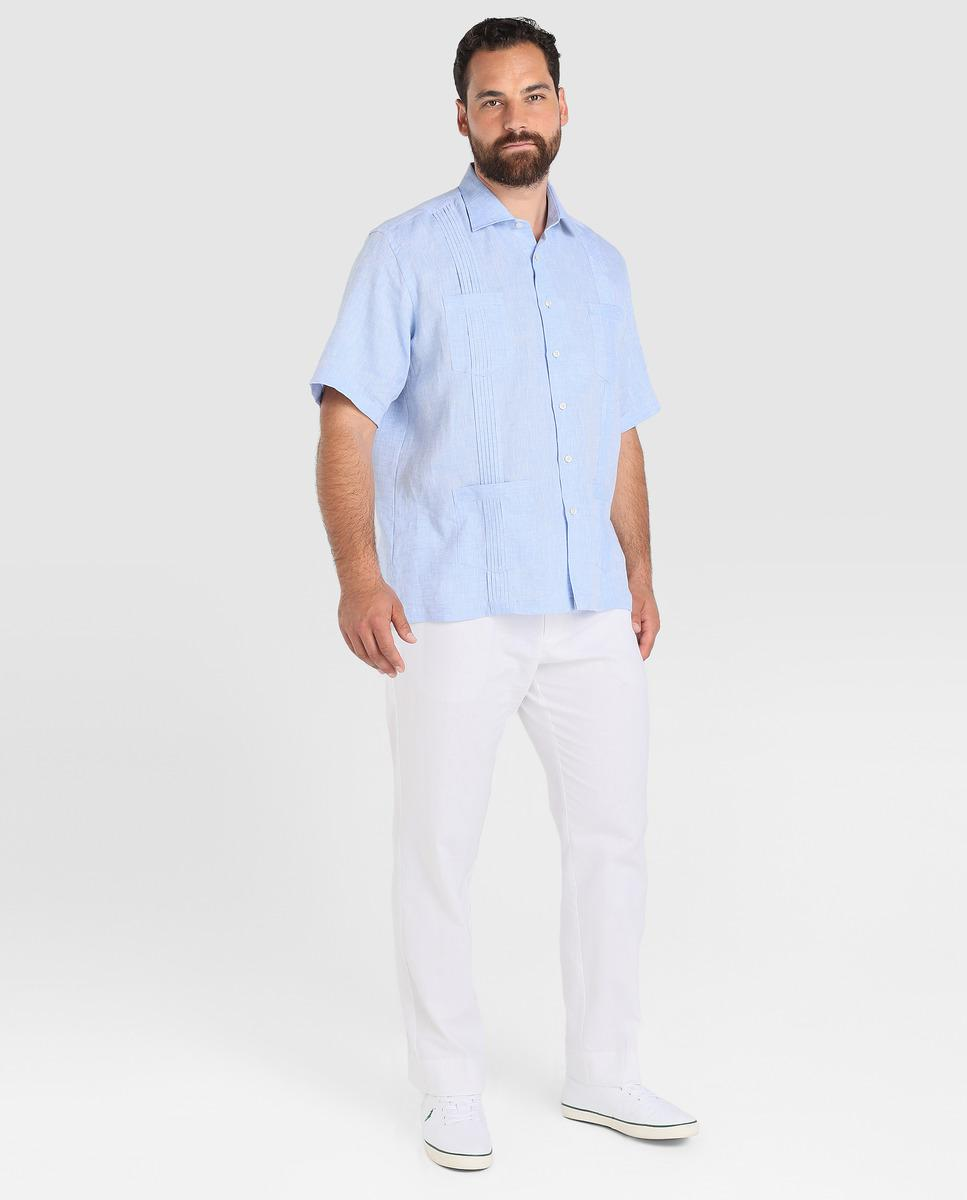 bc5d9a4d Guayabera Linen Shirts – EDGE Engineering and Consulting Limited