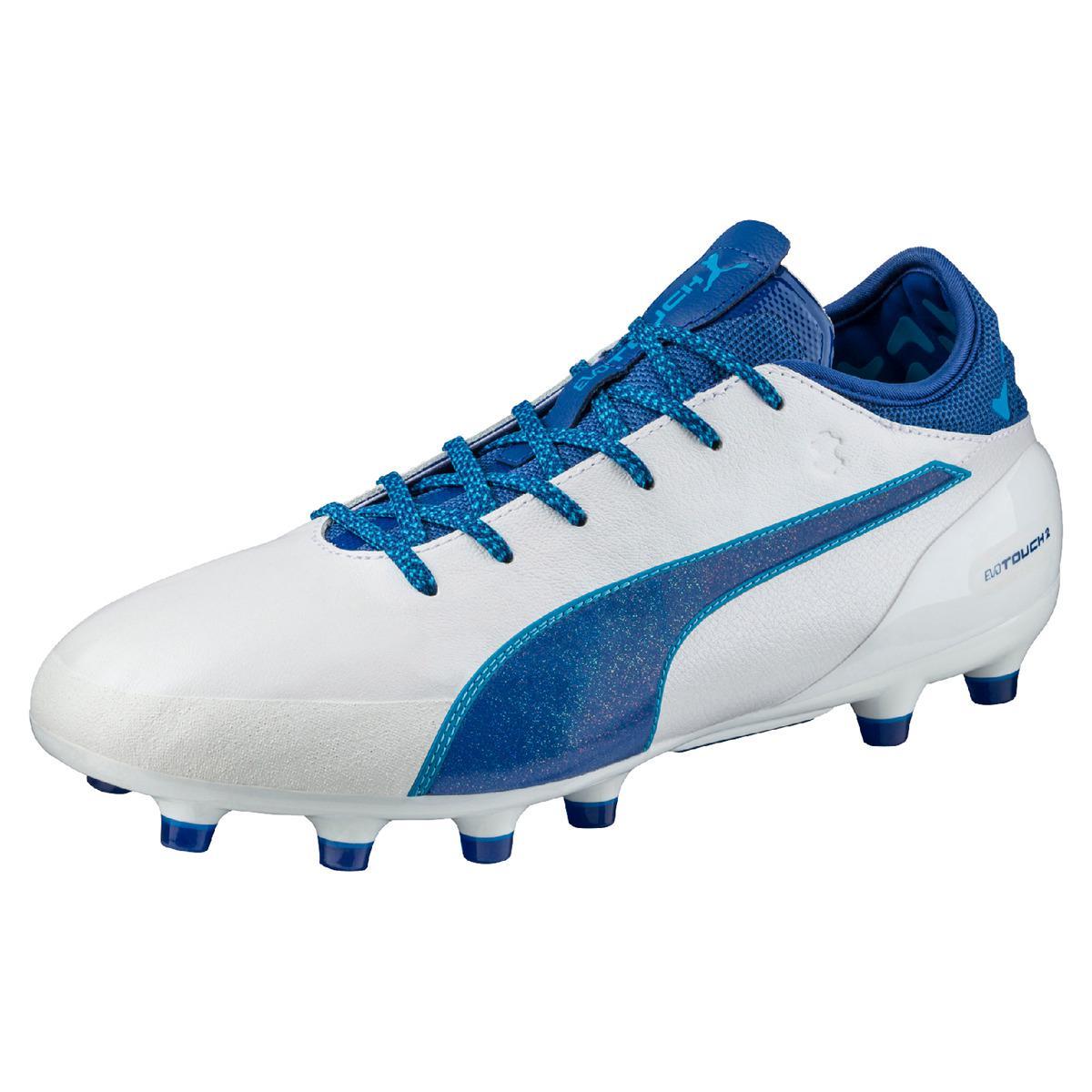 puma football boots white