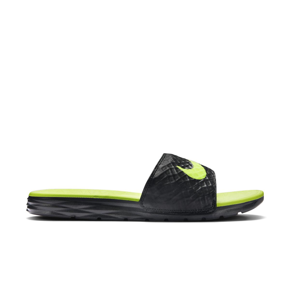 6a60a6d47d10 Lyst - Nike Benassi Solarsoft Slide Swimming Sandals in Green