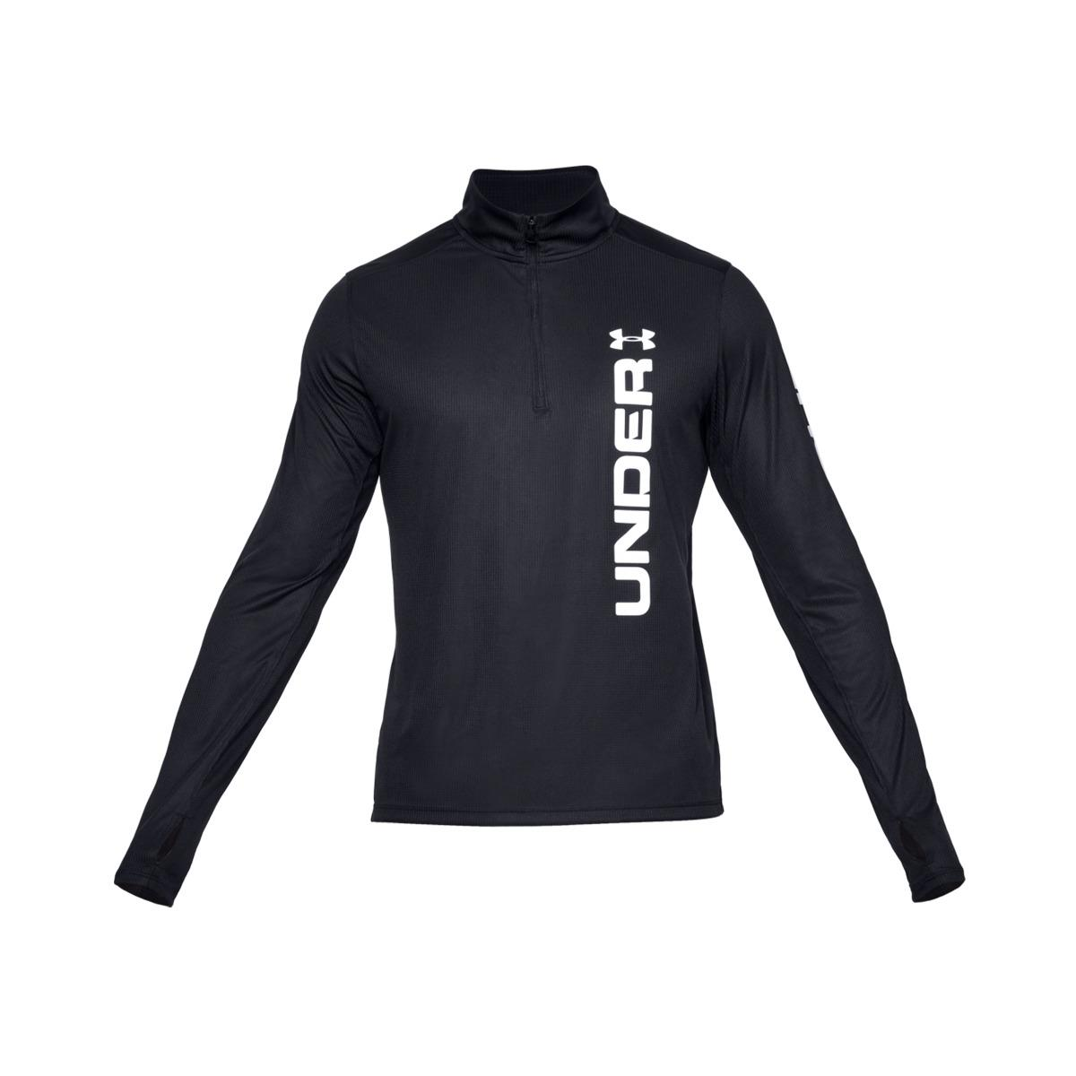 9f1d35adec3 Lyst - Under Armour Camiseta De Hombre Speed Stride Spli in Black ...