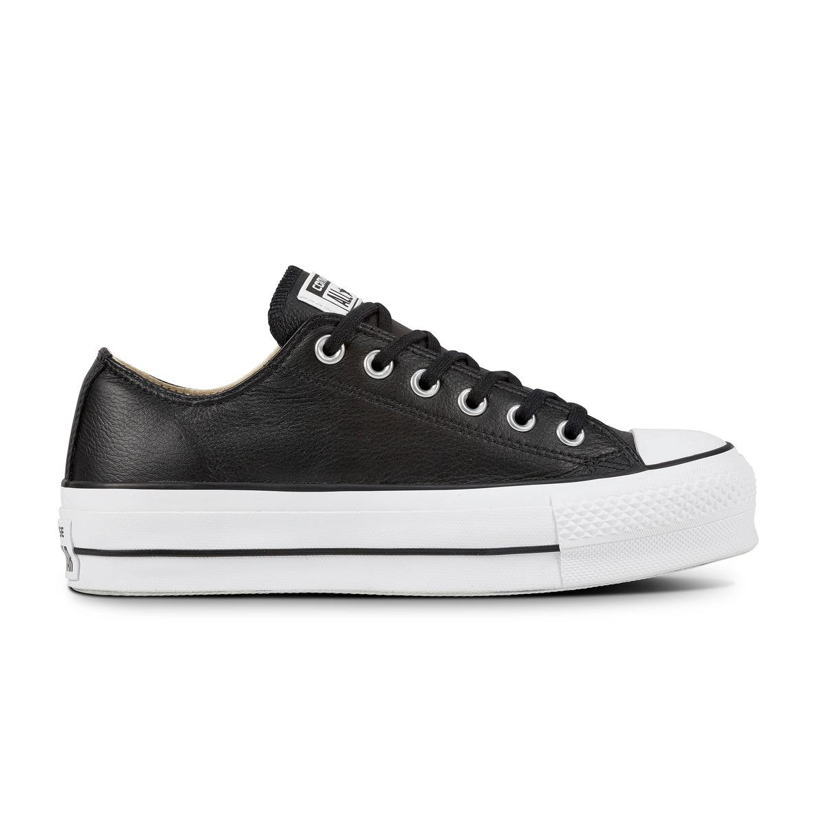 6648d74df9 Converse Chuck Taylor All Star Lift Clean Platform Low Leather ...
