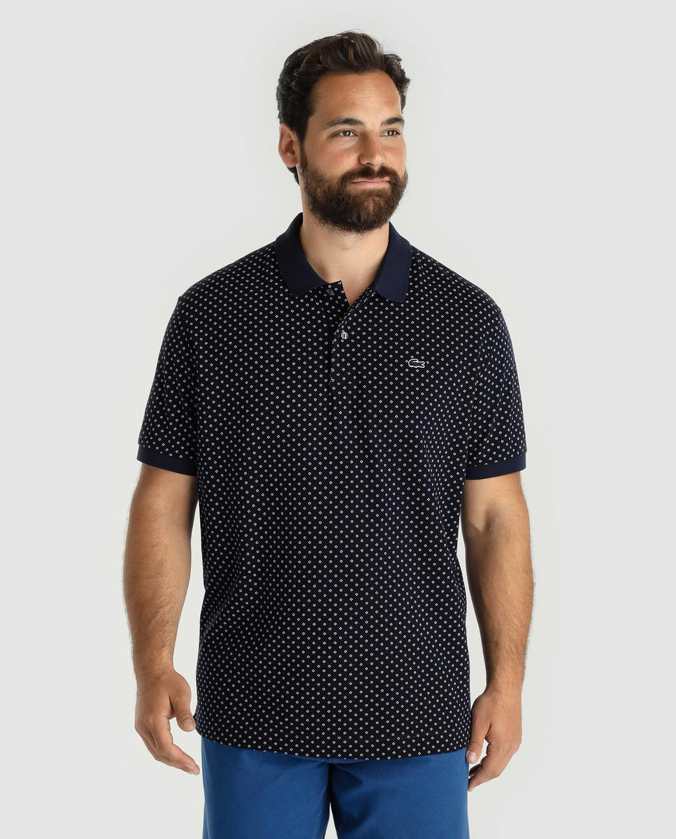 Lyst Lacoste Big And Tall Blue Short Sleeved Polo Shirt