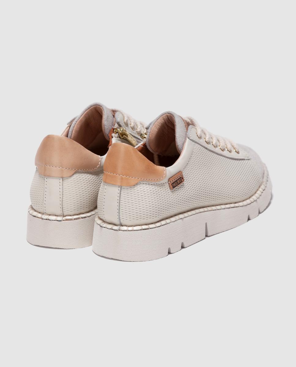 Zapatos De Cordones De Mujer De Piel Con Cremallera Pikolinos