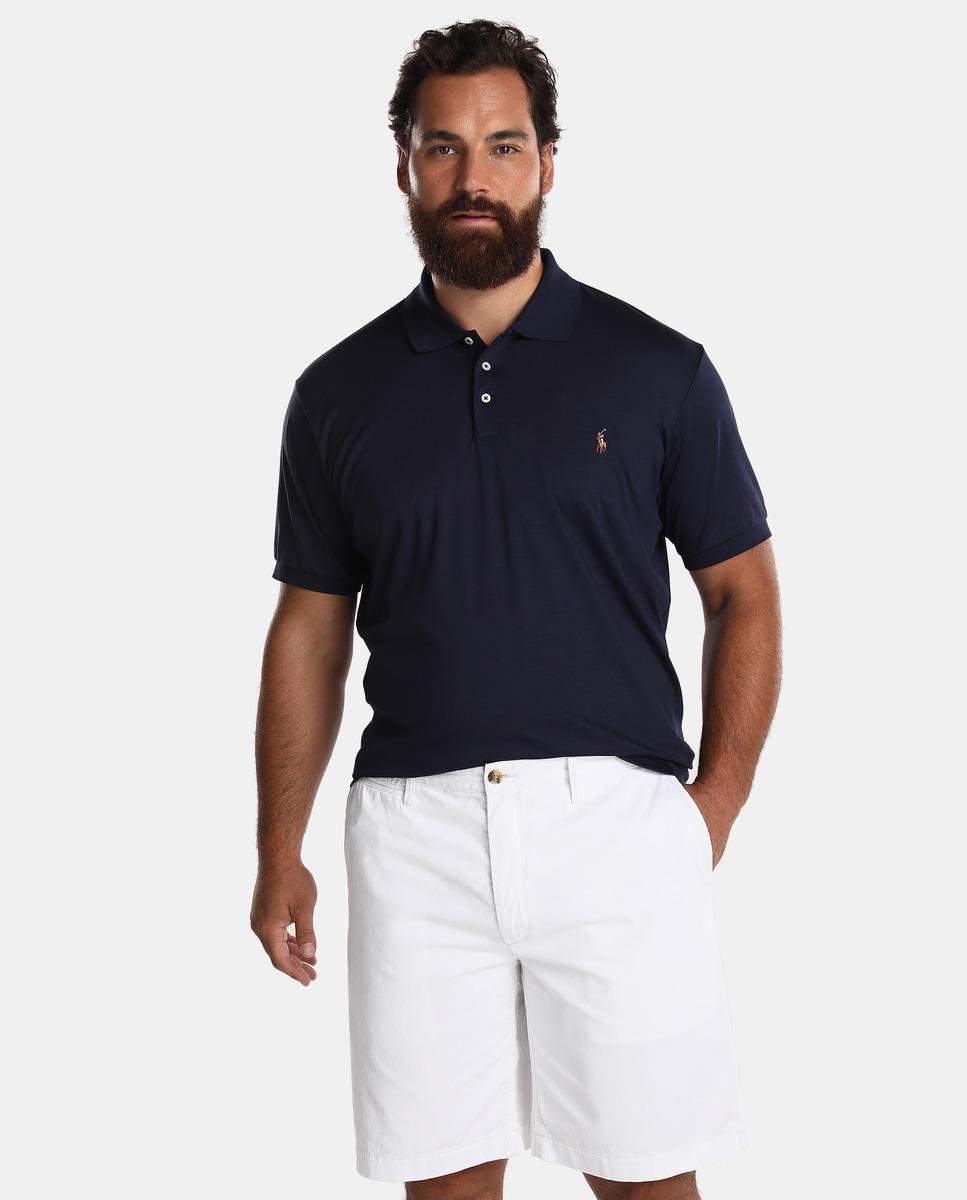 a14dc35975 Polo Ralph Lauren Big And Tall Plain White Bermuda Shorts in White ...