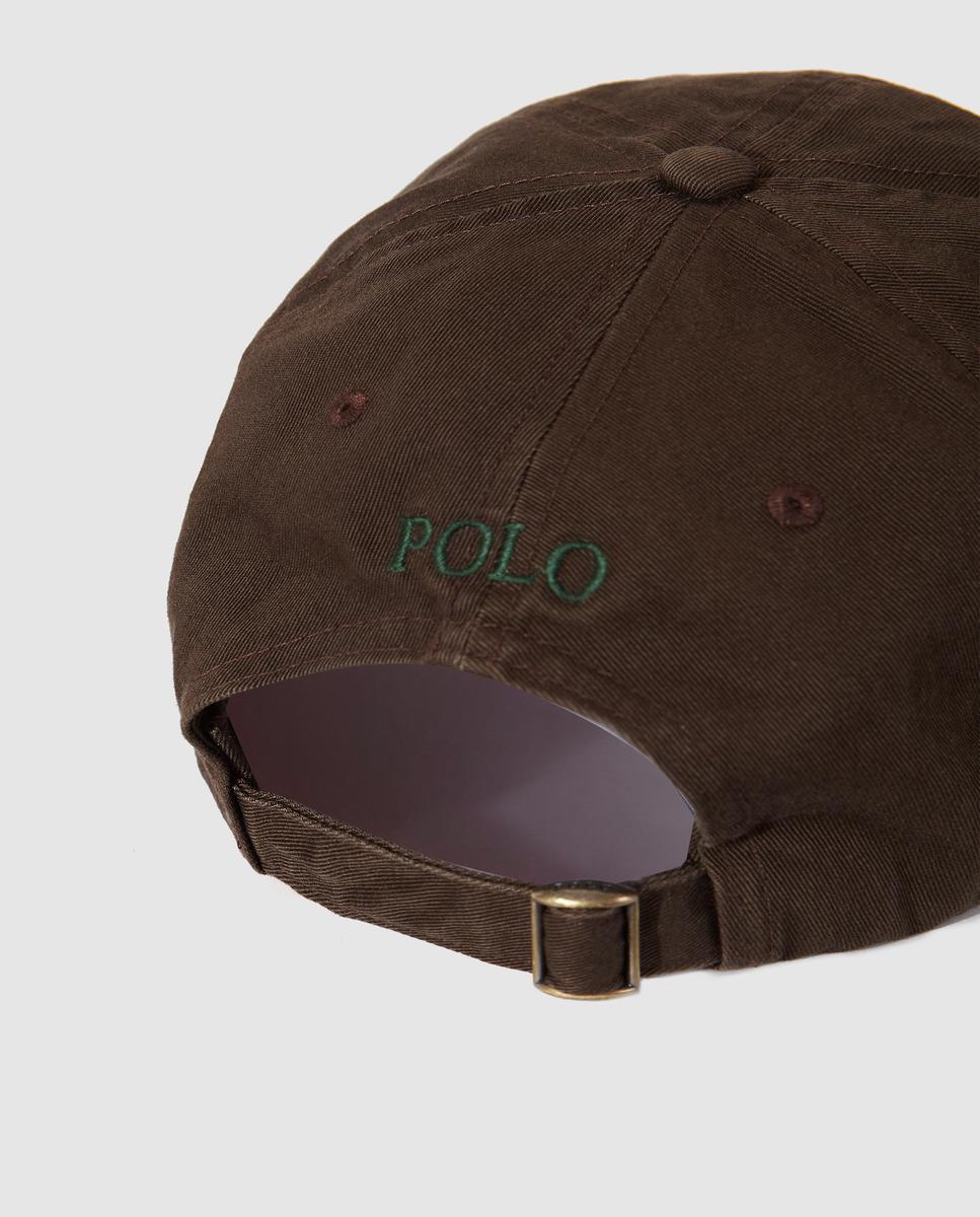 95656de098c Polo Ralph Lauren - Brown Cotton Baseball Cap for Men - Lyst. View  fullscreen