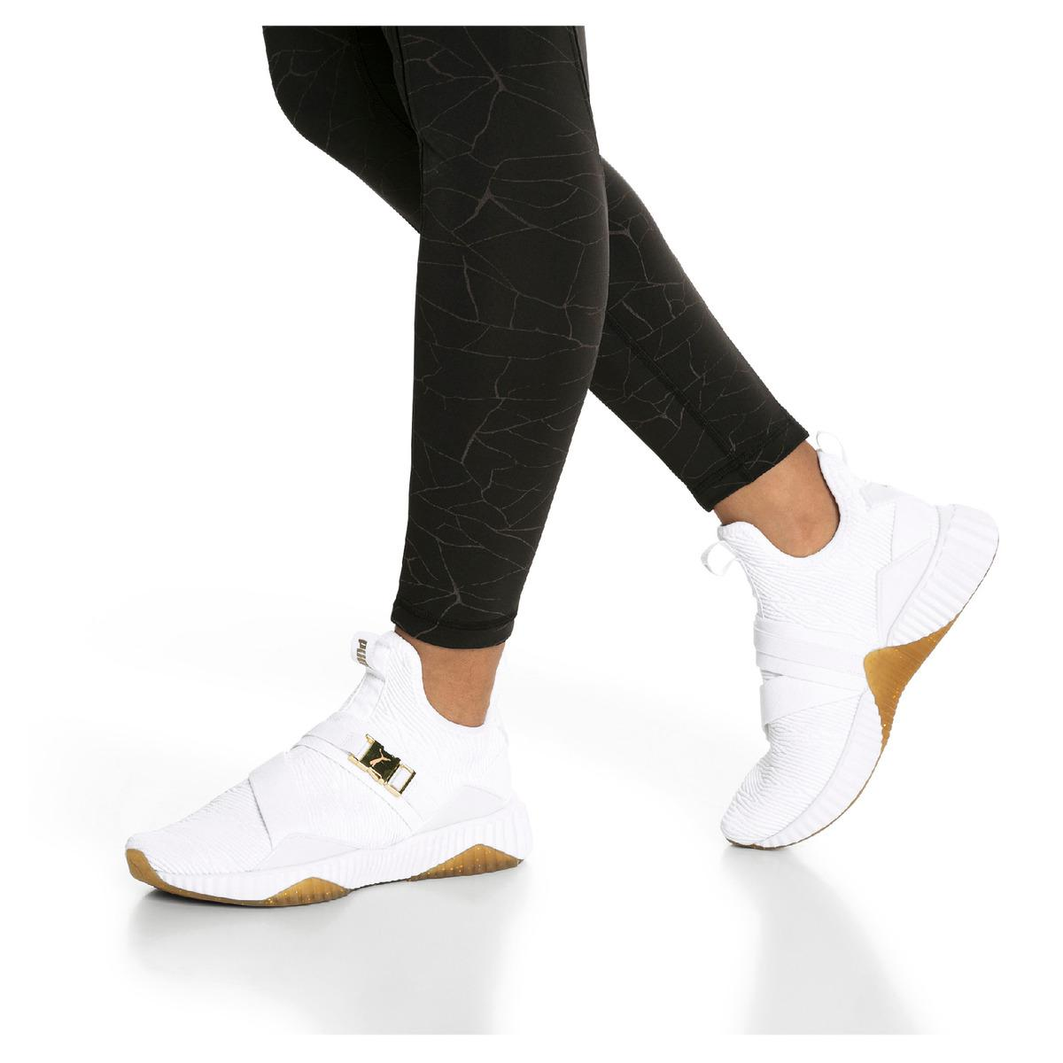 puma defy mid luxe wn's - 63% OFF
