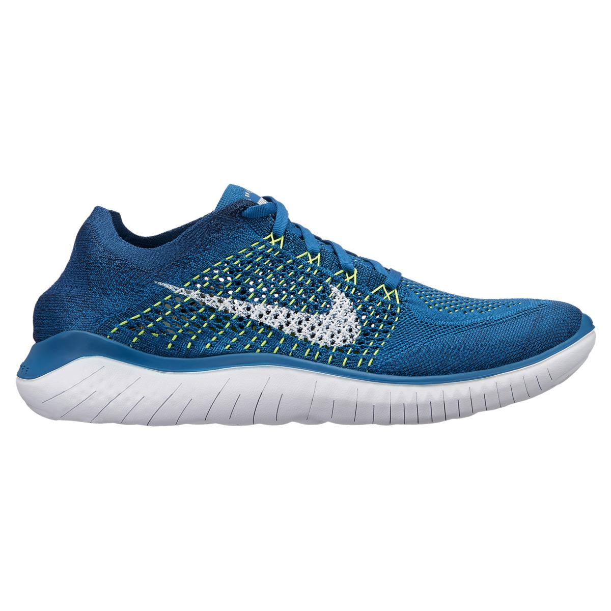 381d155832ab Nike. Men s Blue Free Rn Flyknit 2018 Running Shoes. £111 £89 From El Corte  Ingles