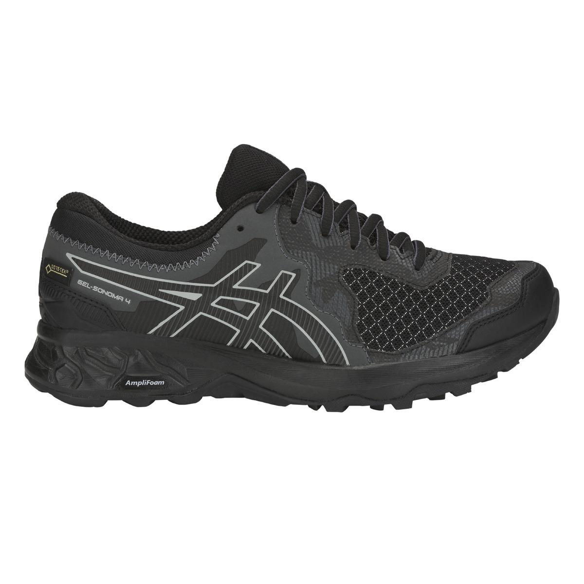 e5cb214932a8 Asics - Black Gel-sonoma 4 G-tx Running Shoes - Lyst. View fullscreen