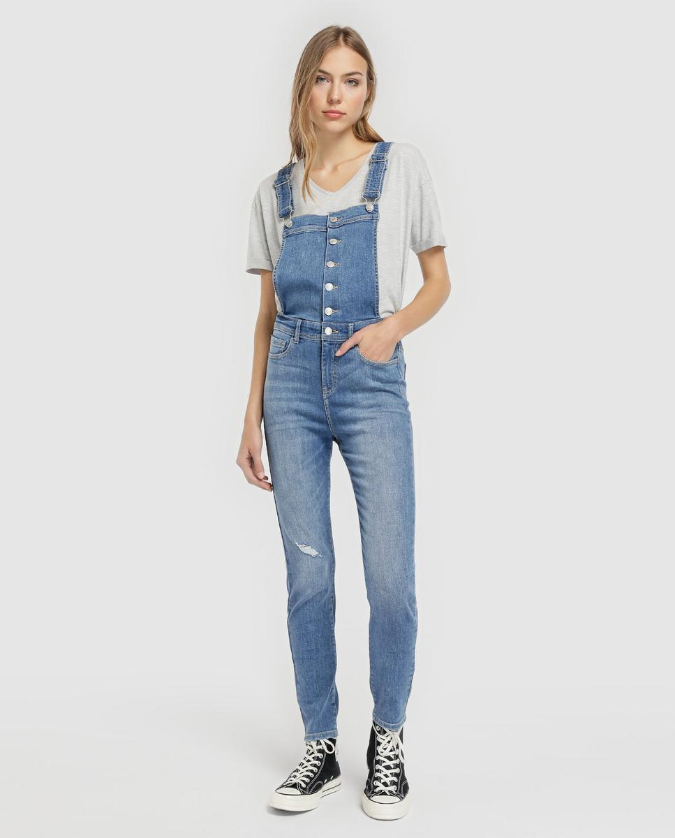 2f0d588a7384 Green Coast Slim-fit Denim Dungarees in Blue - Lyst