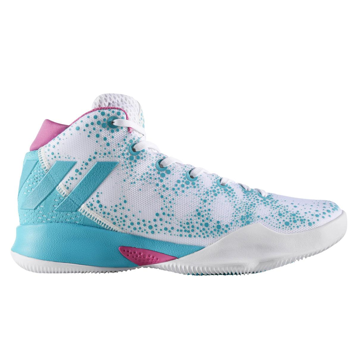 ad9cb48bd20 Lyst - adidas Crazy Heat Basketball Shoes in Blue