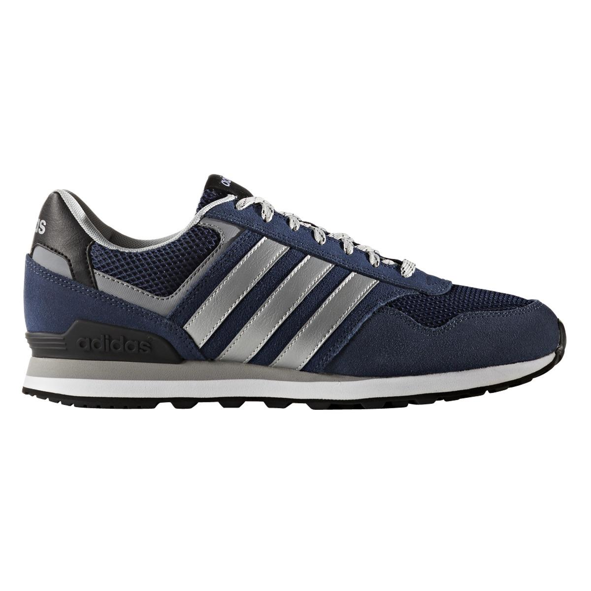Neo Adidas: Adidas Neo 10k Casual Trainers In Black For Men