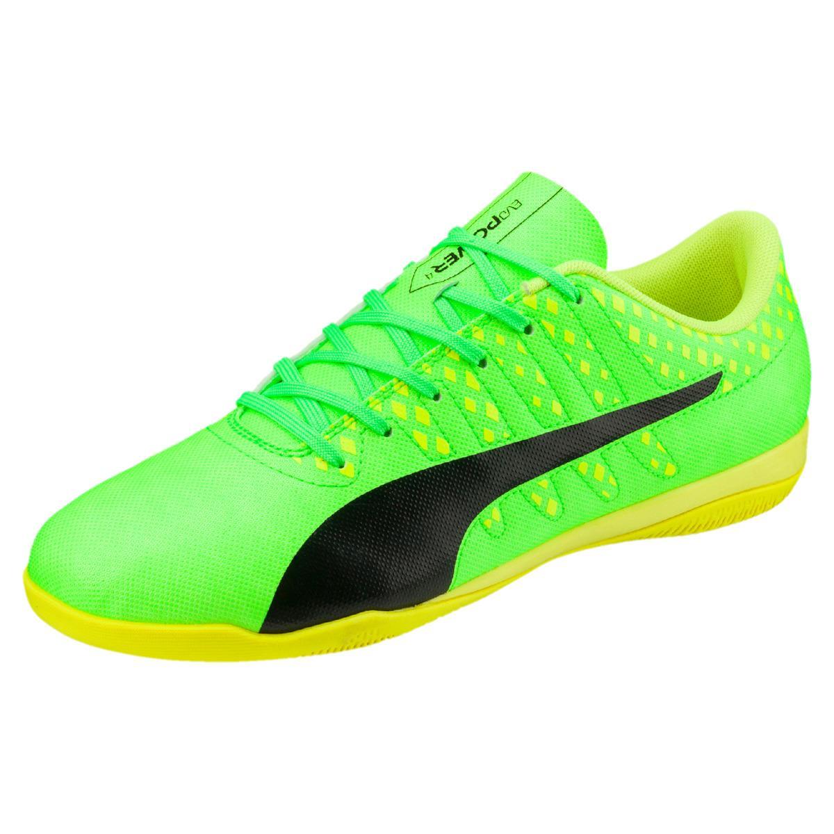 Puma Evopower Vigor 4 It Indoor Football Boots in Green ...