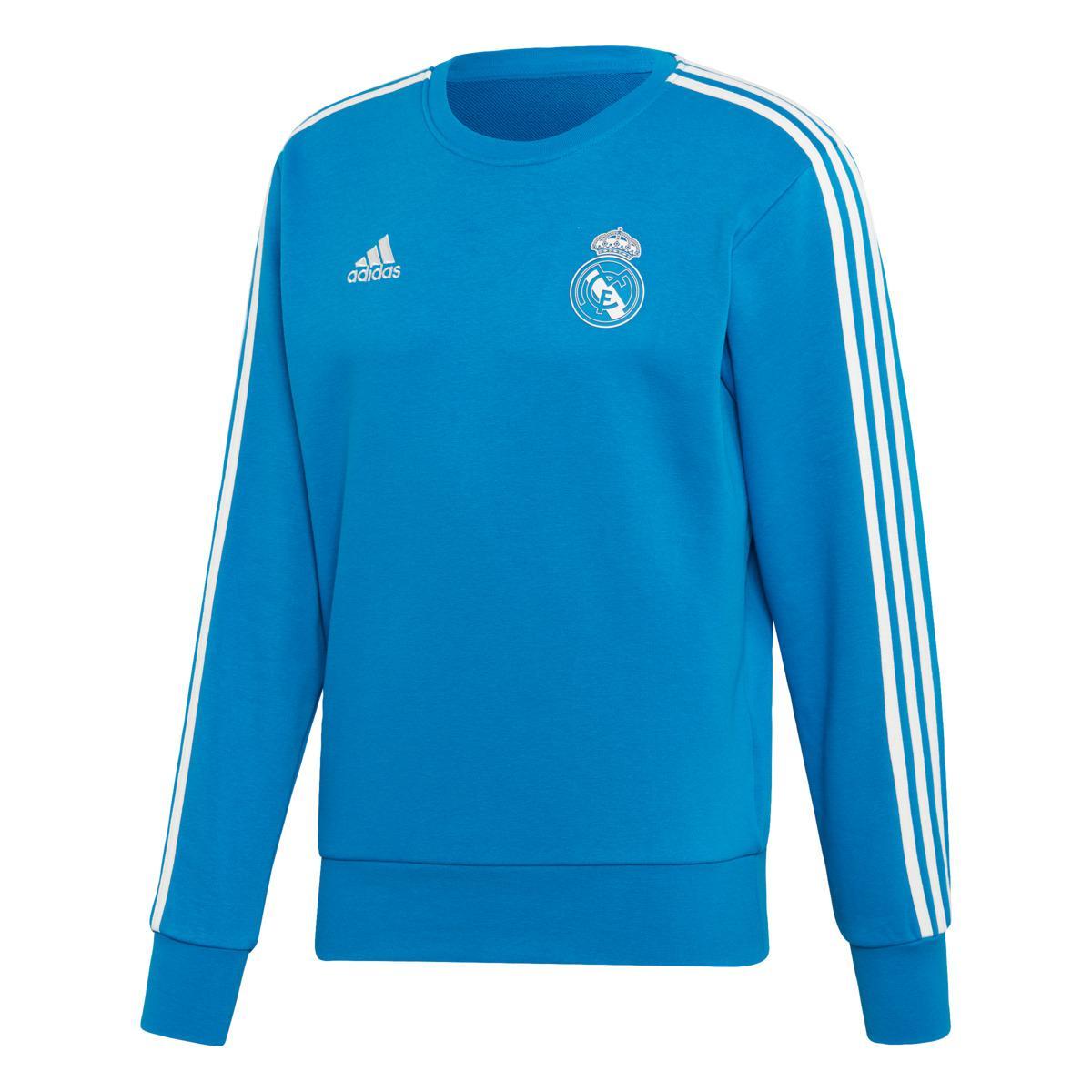 c8753bbcb47 adidas Real Madrid Cf 2018-2019 Sweatshirt in Blue for Men - Lyst