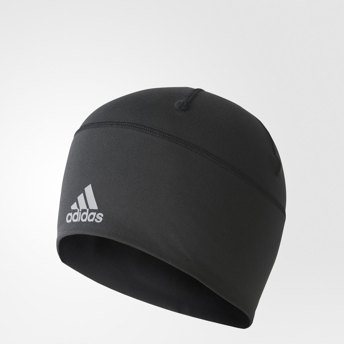 b7cd038a6 Adidas Black Climalite Beanie Fitted Unisex Training Hat for men