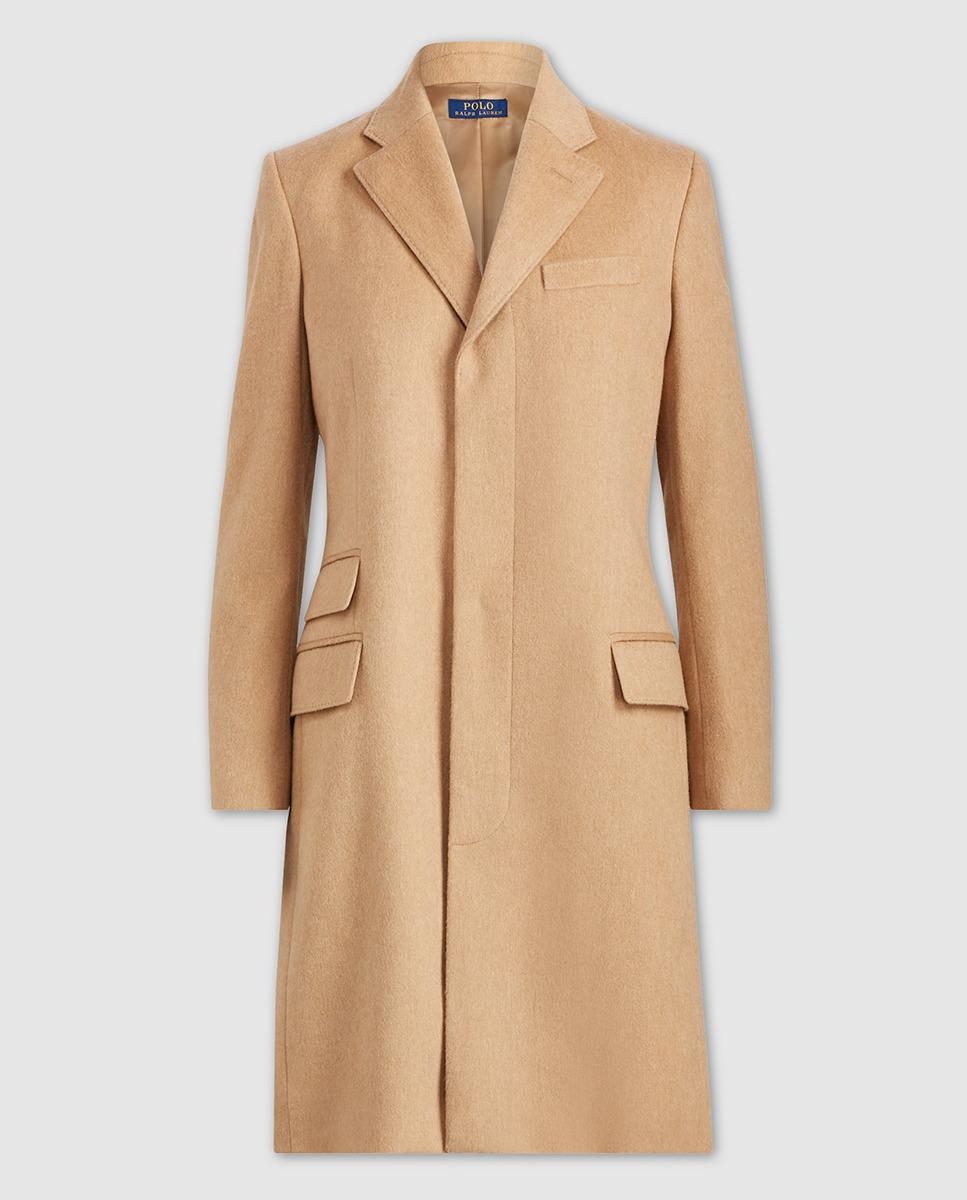 Polo Ralph Lauren Wool-blend Chesterfield Coat in Natural ...