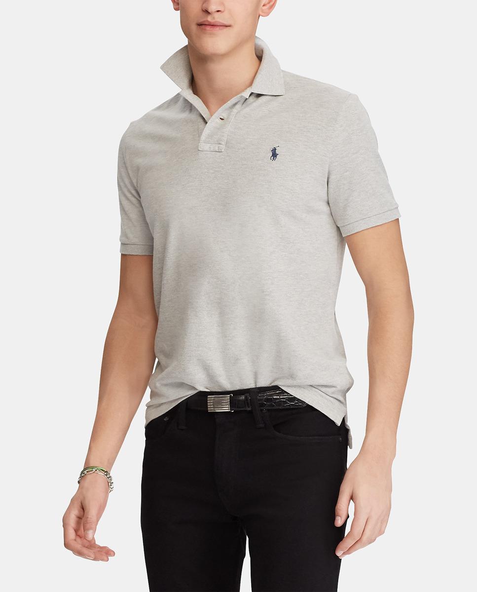 34cd2ddaaed2 Polo Ralph Lauren Grey Short Sleeved Regular-fit Piqué Polo Shirt in ...