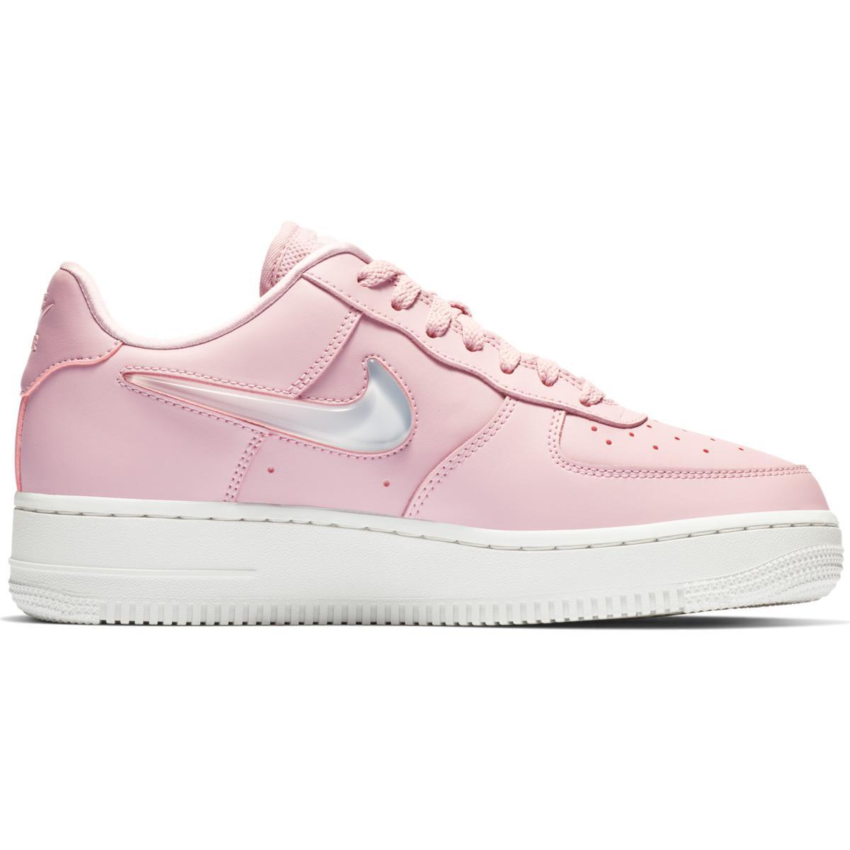7fddaad34b9be Nike - Pink Air Force 1 07 Se Premium Casual Trainers - Lyst. View  fullscreen