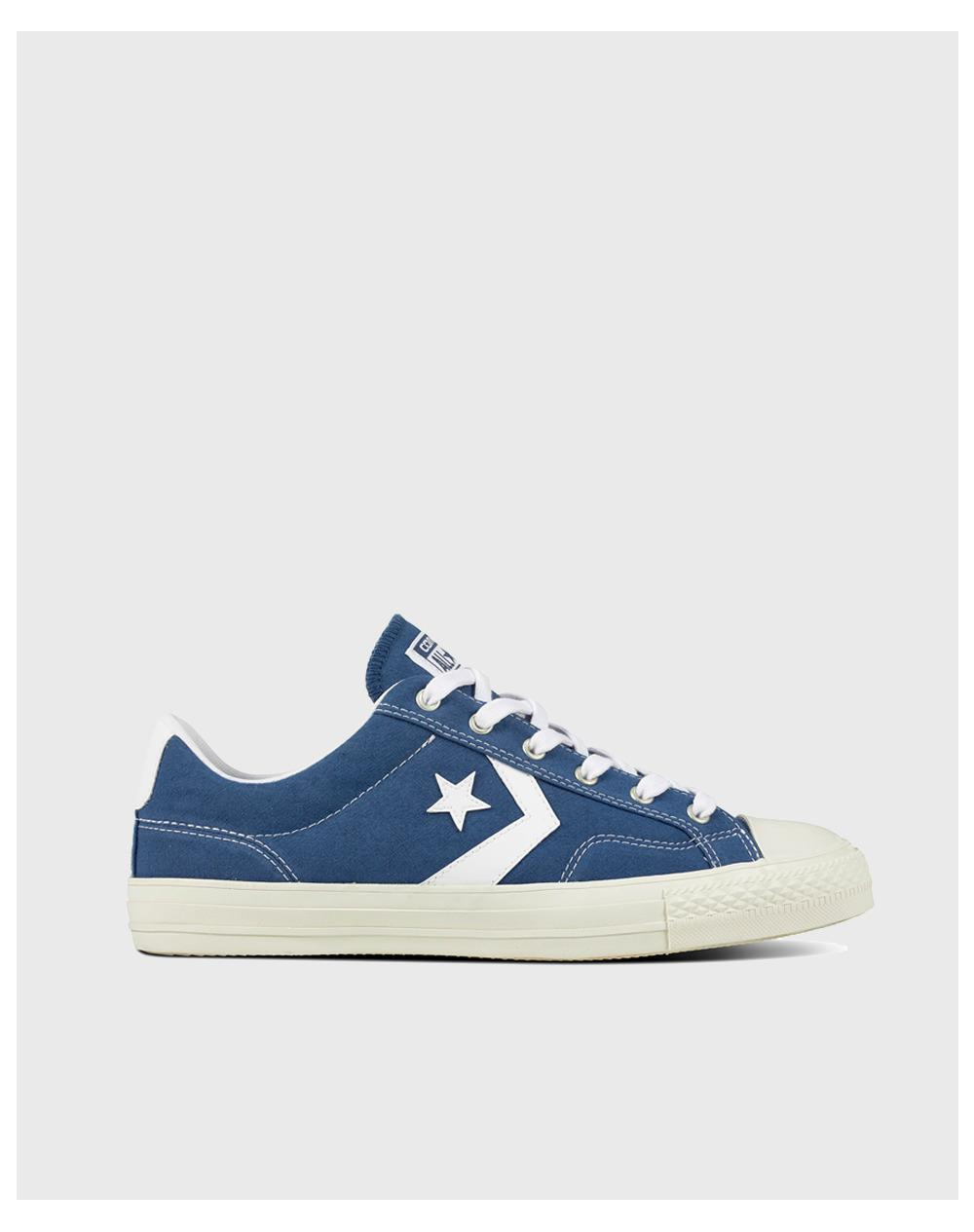 3f106e8966b Converse Star Player Ox Casual Unisex Trainers in Blue for Men - Lyst