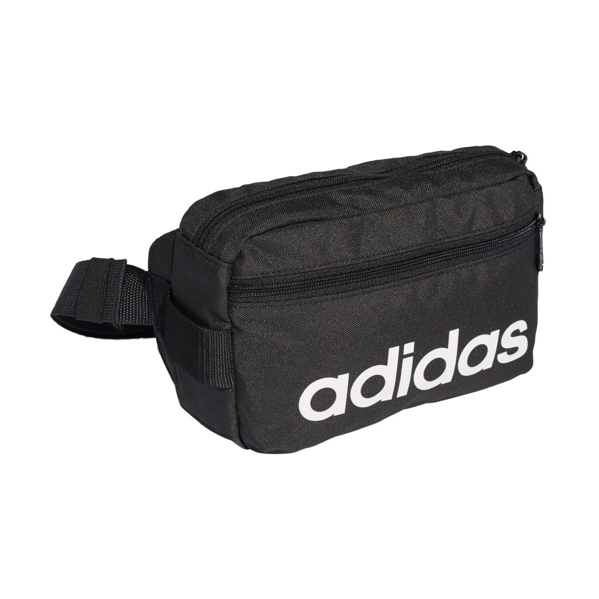 571c3c03ffb Adidas - Black Linear Core Toiletry Bag for Men - Lyst. View fullscreen