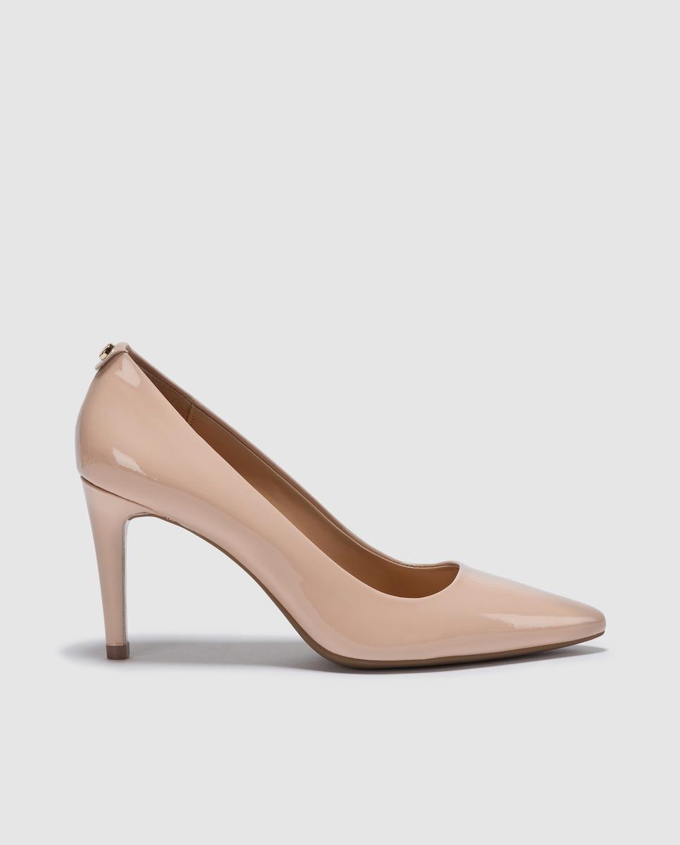 babe9f0a585f MICHAEL Michael Kors Michael Kors Tan Patent Leather Court Shoes ...