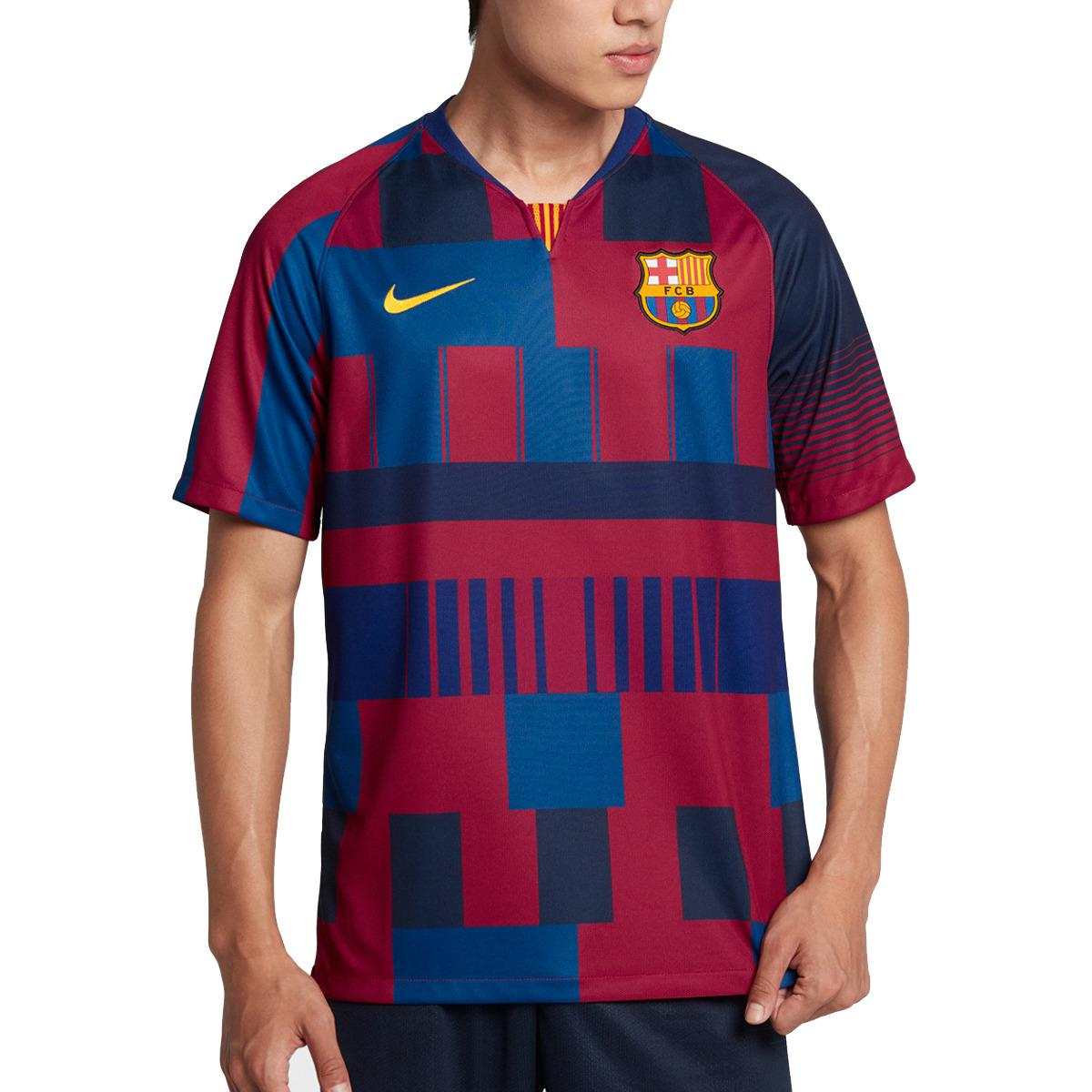 a03d264a8 Nike Fc Barcelona 2018-2019 Breathe Stadium Disrupted 20 Years T ...