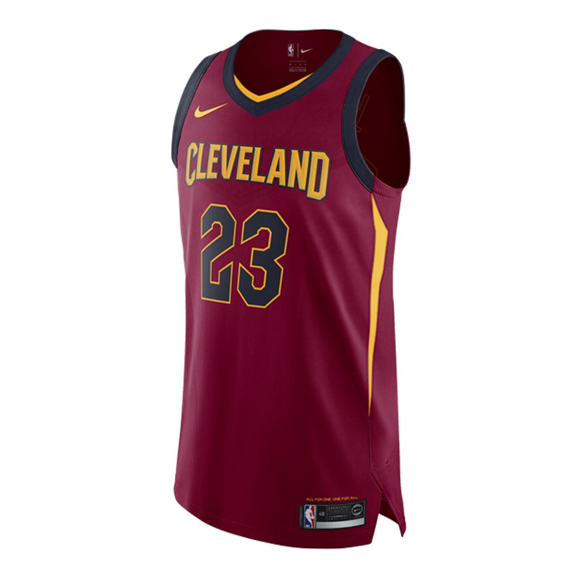 detailed look 2b0ec 6674e Women's Red Cleveland Cavaliers 2017-2018 Lebron James Icon Edition T-shirt
