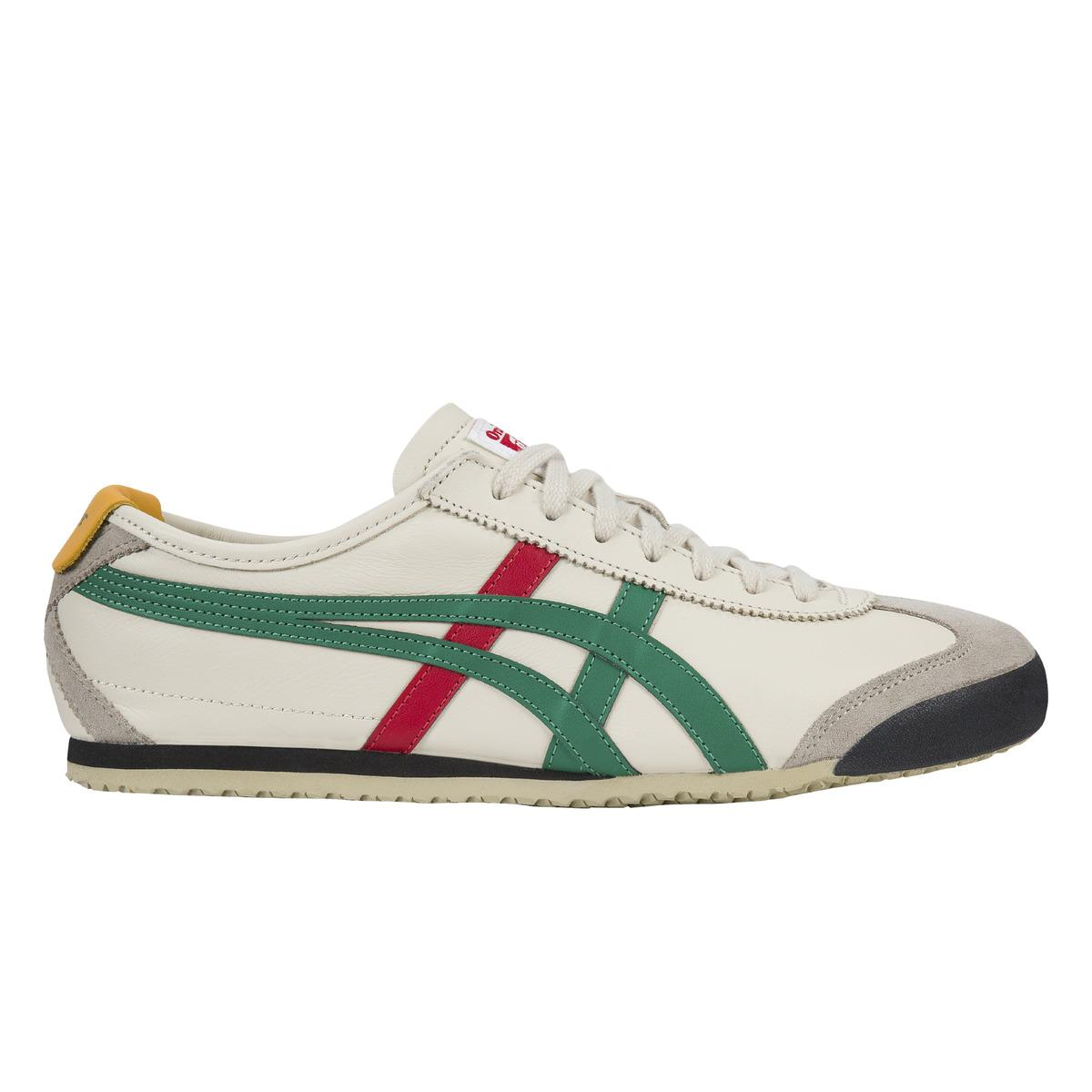 the latest 1d48e 302c6 Men's Green Onitsuka Tiger Mexico 66 Casual Sneakers