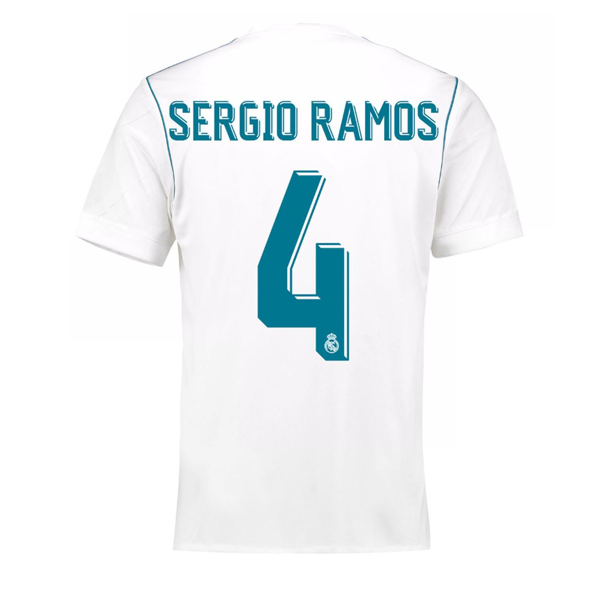 5320b7ad Visit El Corte Ingles. Tap to visit site. Adidas - White Real Madrid Cf  2017-2018 Asensio Home Strip T-shirt for